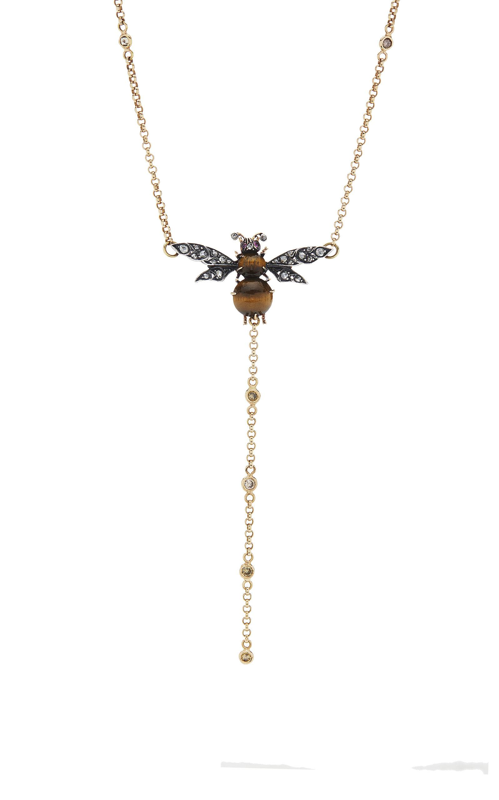Mo Exclusif: One-of-a-kind Collier Abeille Sylvie Corbelin hFzLlUDN