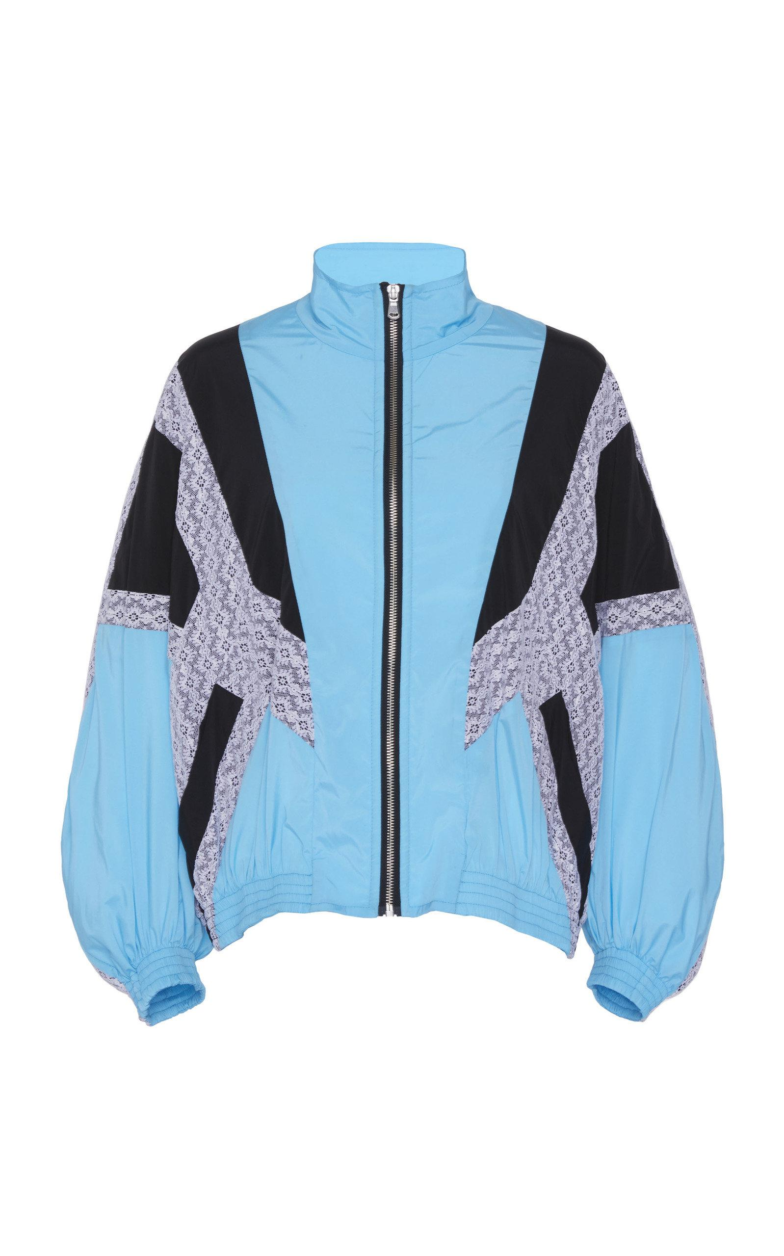 Blue Classic In Lyst Koche Patchwork Bomber Jacket 0OPNnk8wX