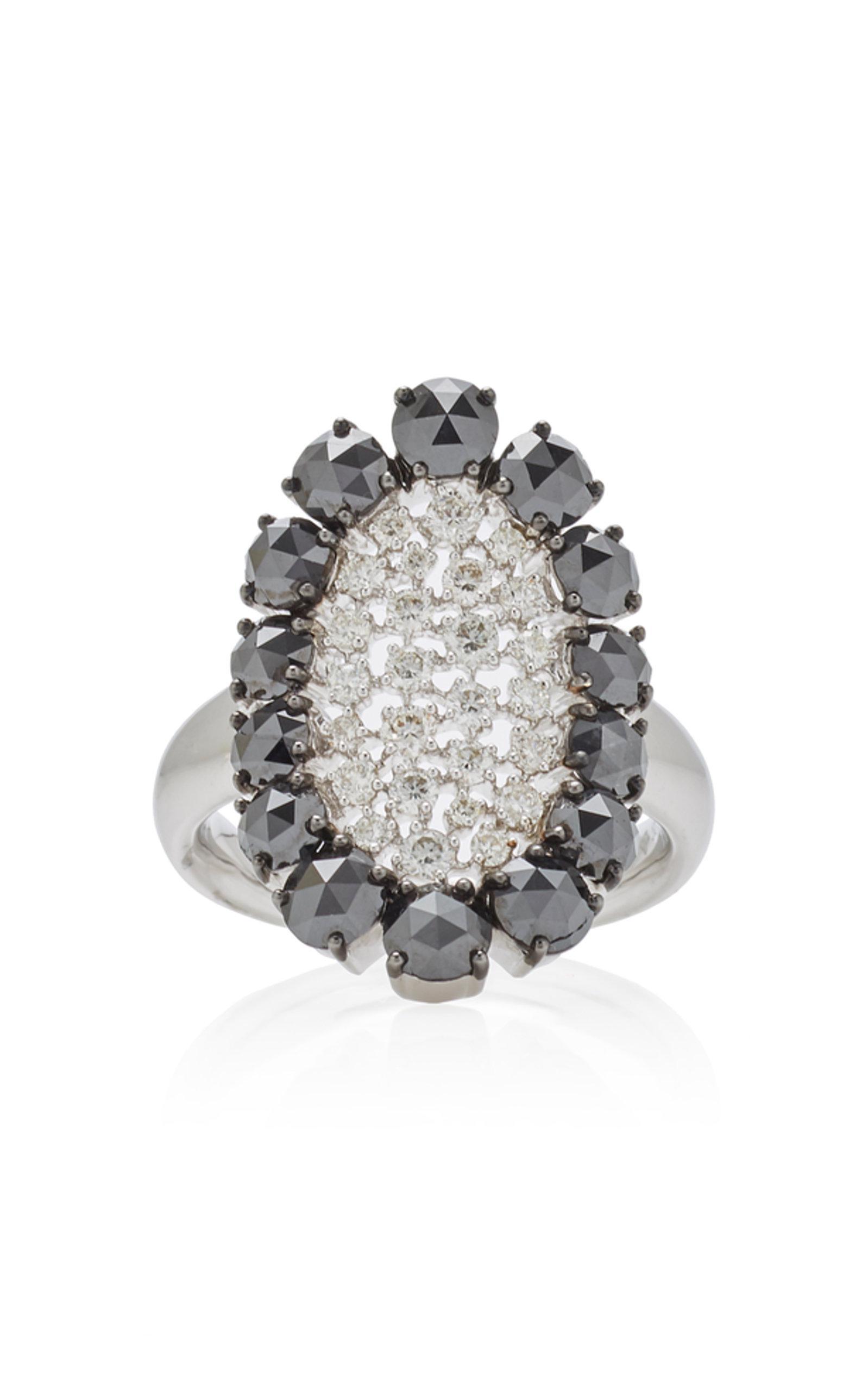 Scintilliae Black And White Diamond Ring Sutra tScDhVT