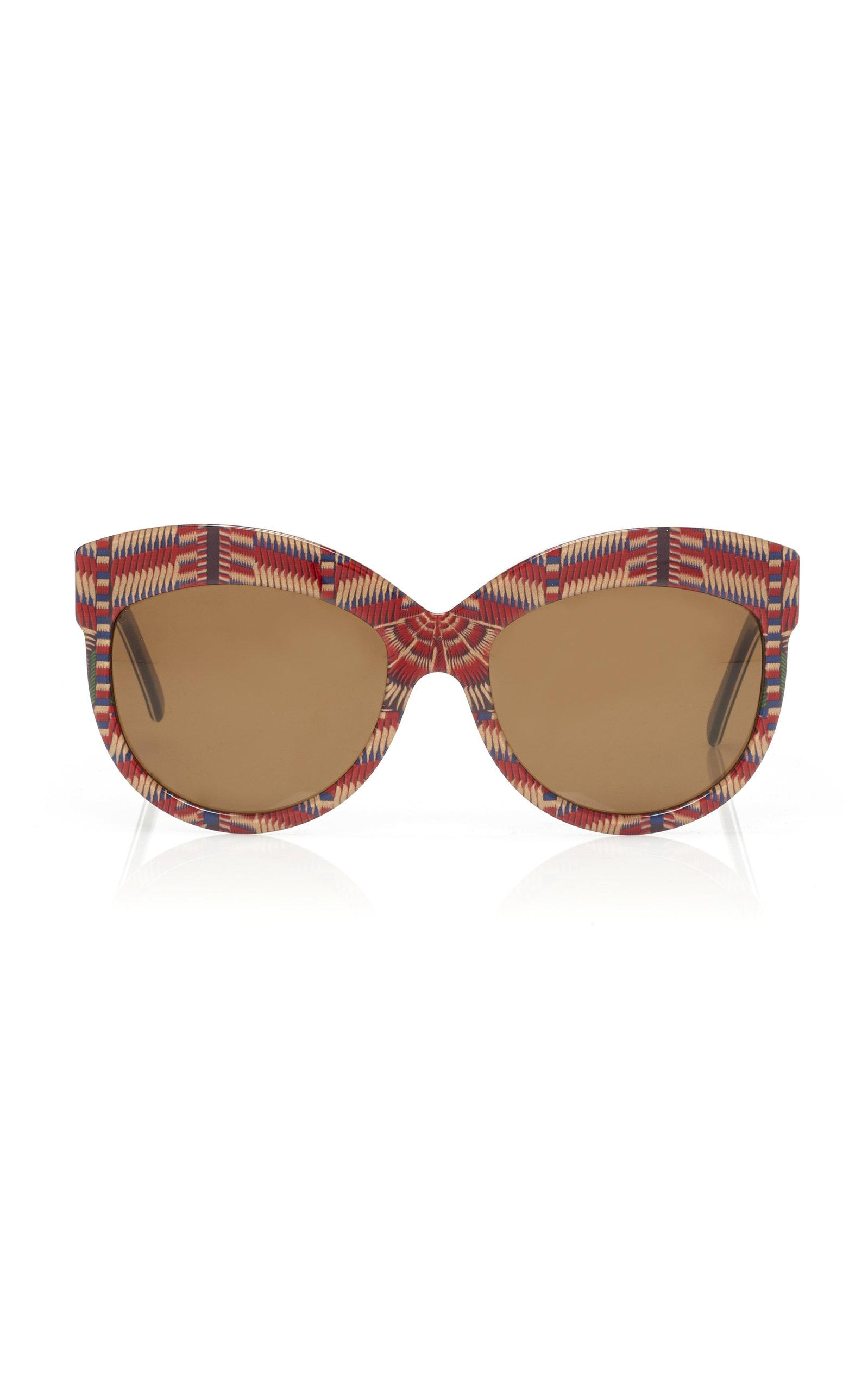 f7a1eb733a8 Rianna + Nina X Andy Wolf Carnaval Bahia Sunglasses in Red - Lyst