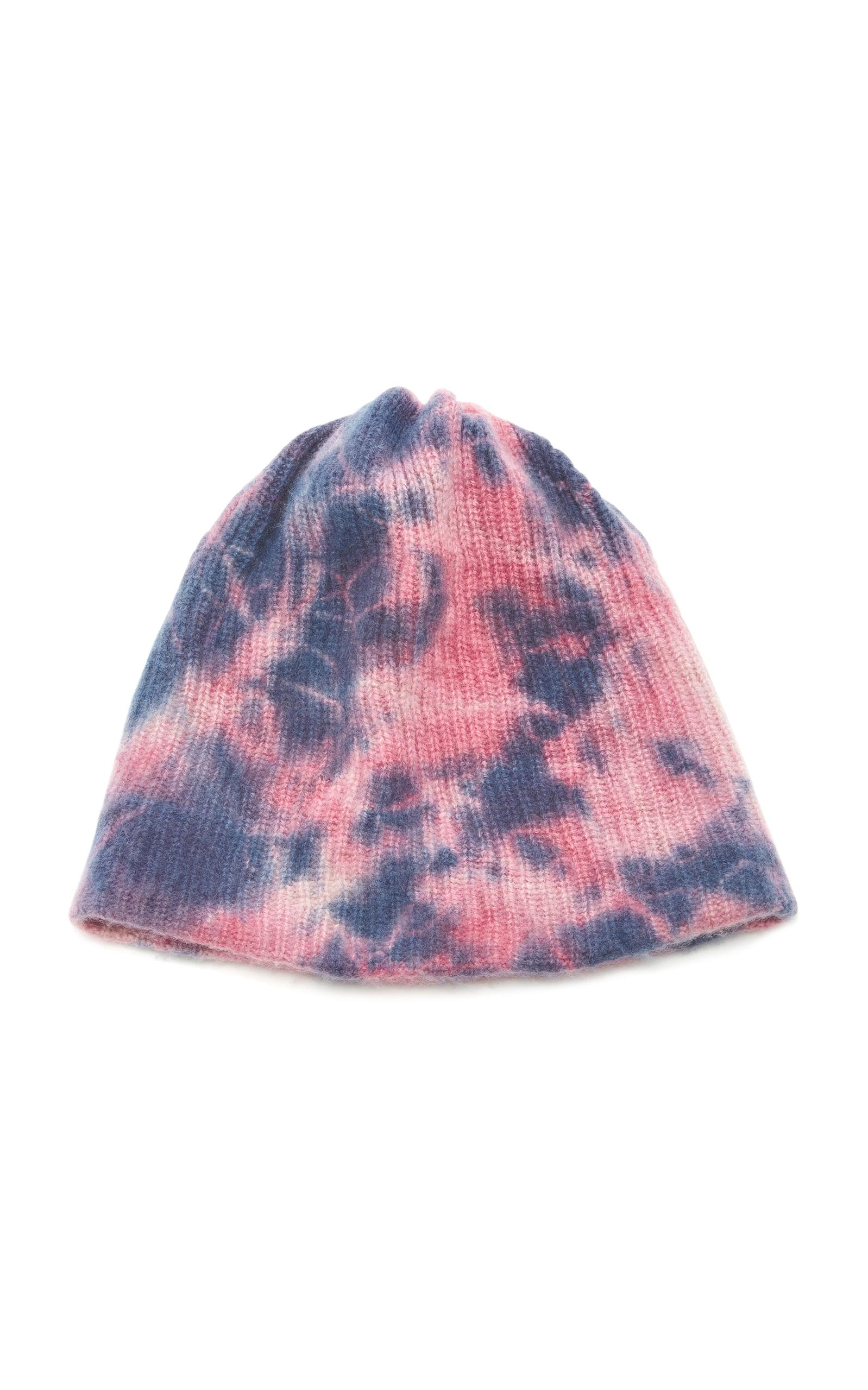 pink cashmere ribbed knit beanie - Pink & Purple The Elder Statesman pPktqbW1L