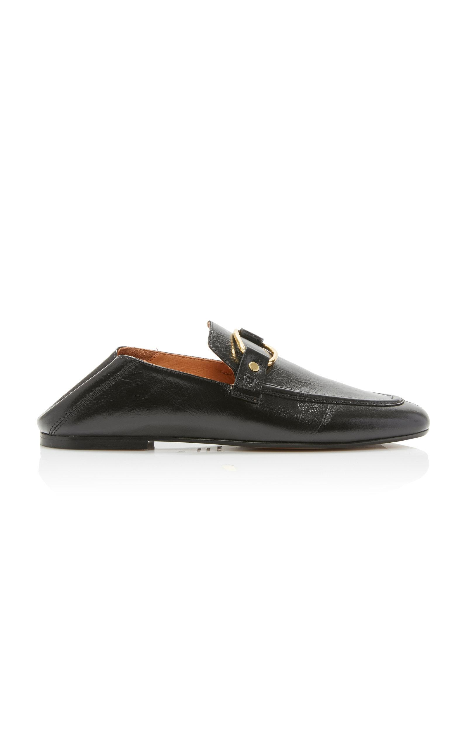 7e86346b5e0 Isabel Marant Ferlyn Loafers in Black - Lyst