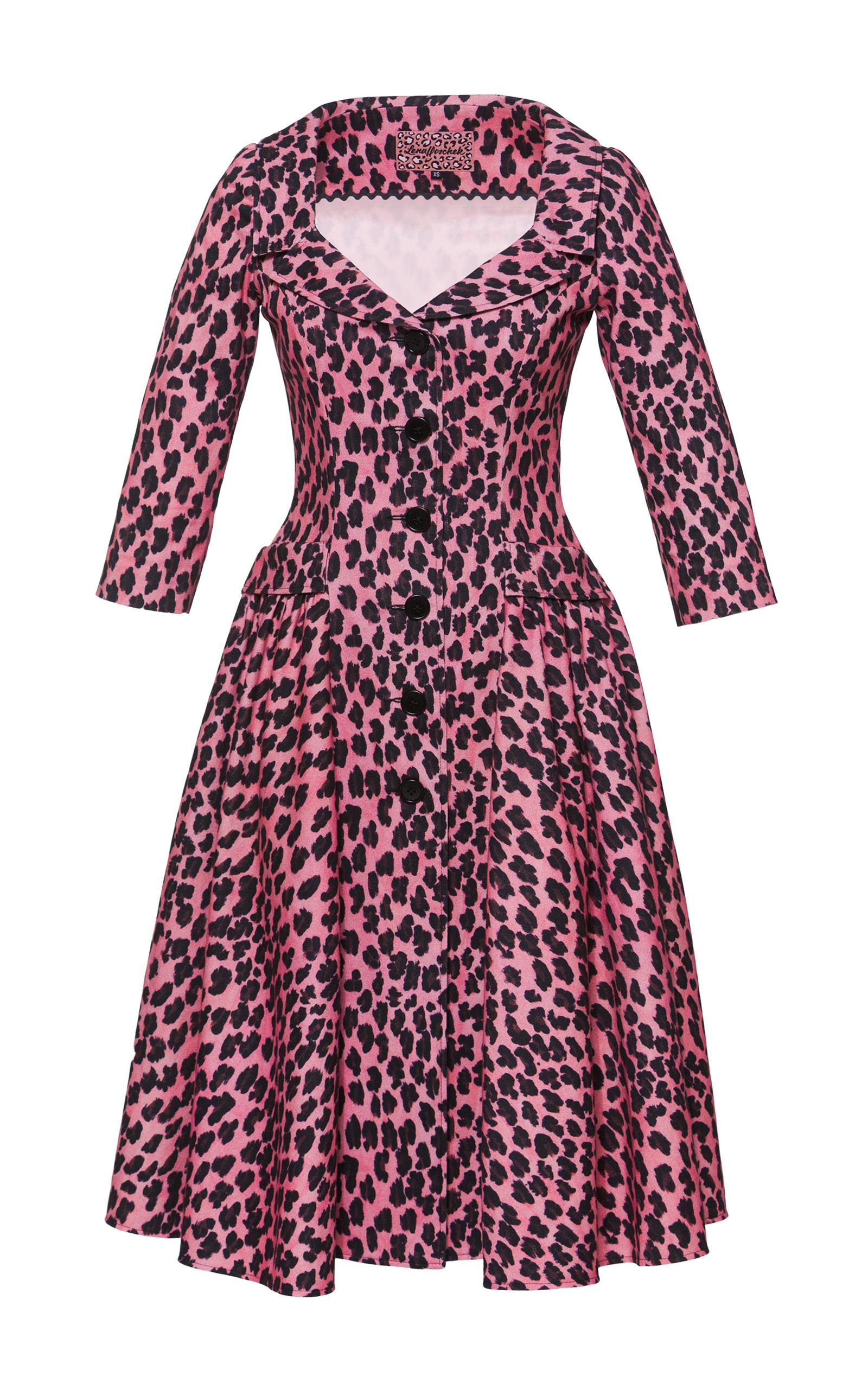 lena hoschek kitten collared dress in red lyst. Black Bedroom Furniture Sets. Home Design Ideas