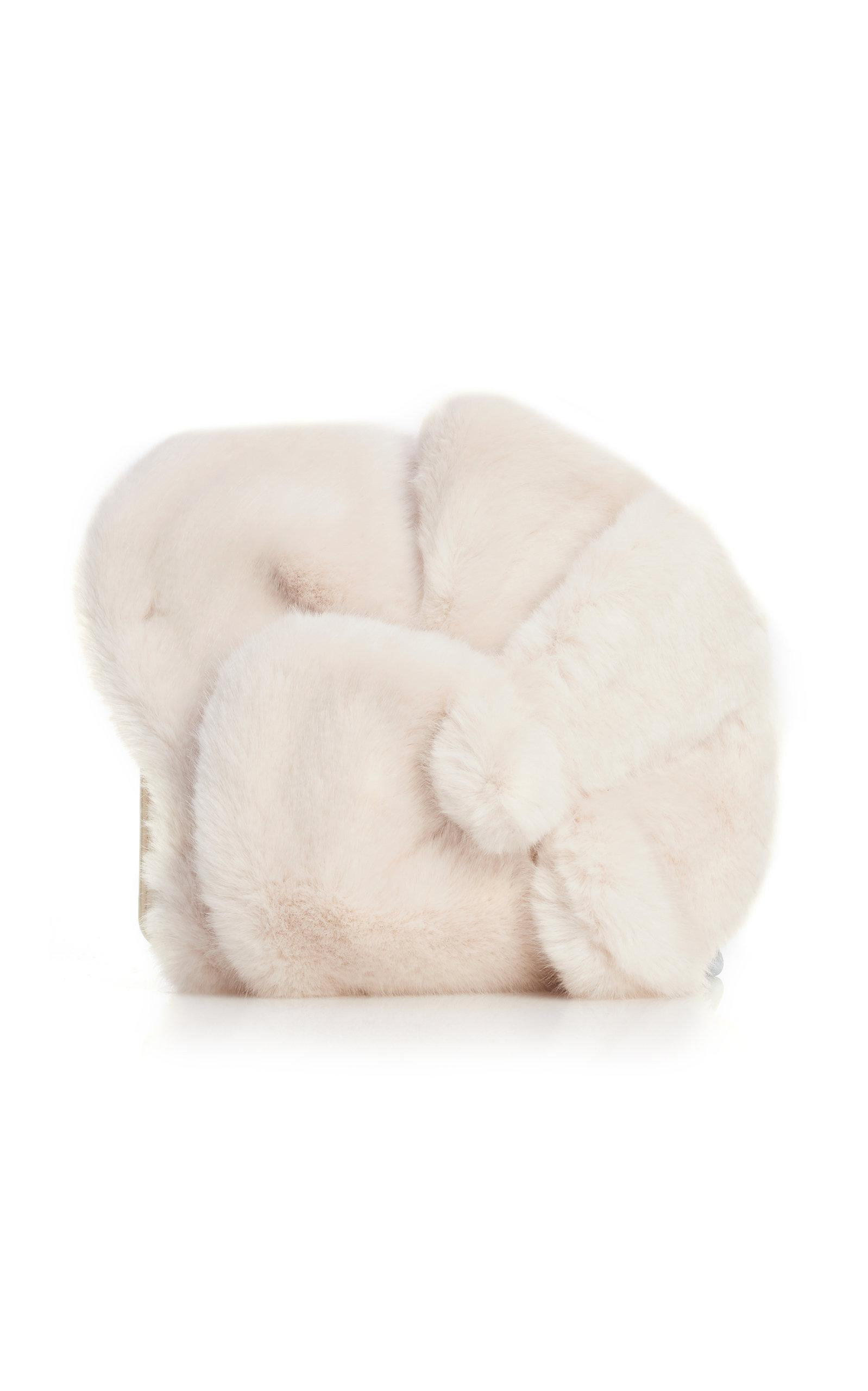 Lotus Faux Fur Clutch Delpozo From China 2018 Online YTCK05o