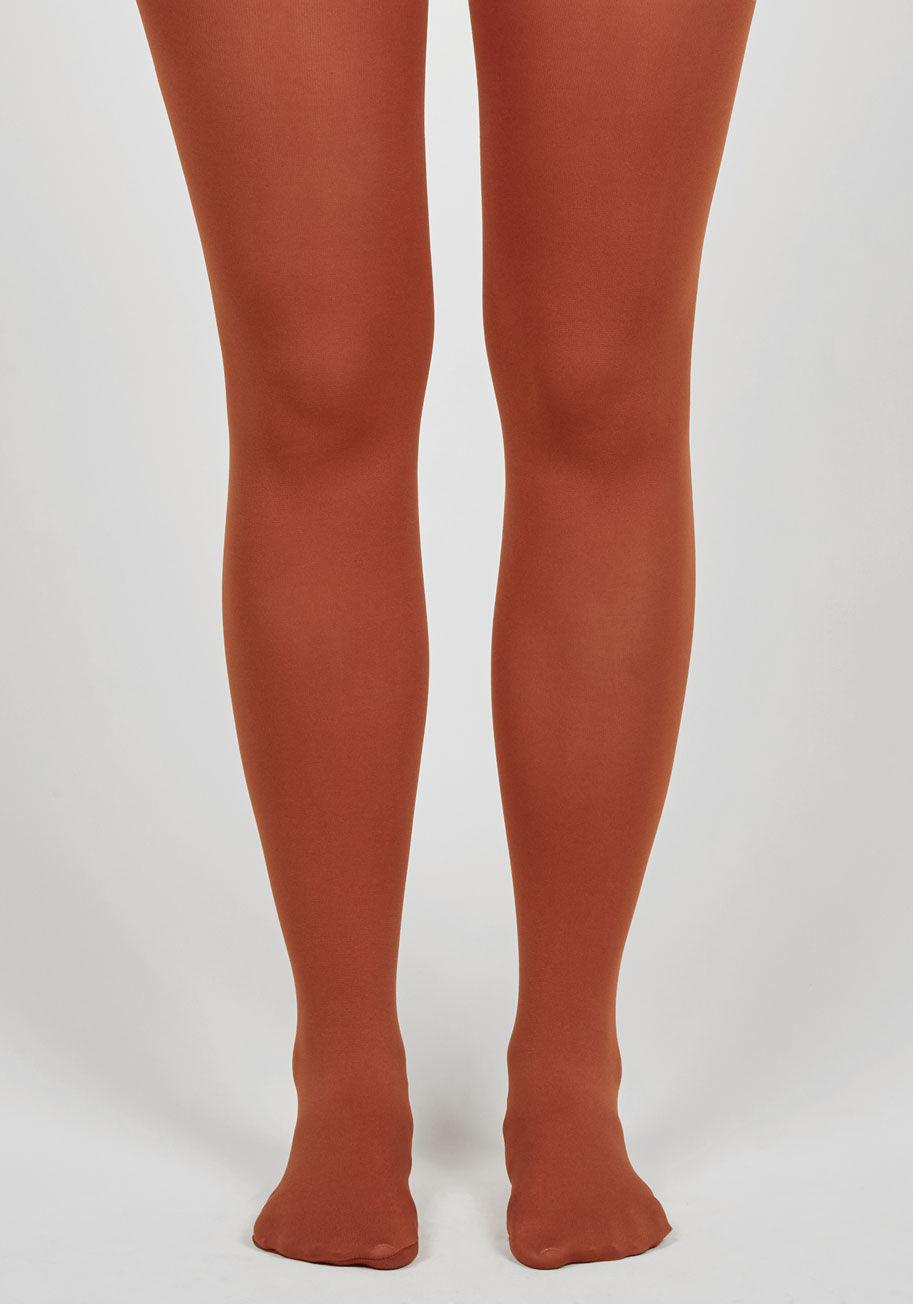 8979b7bb6 Lyst - ModCloth Accent Your Ensemble Tights in Red