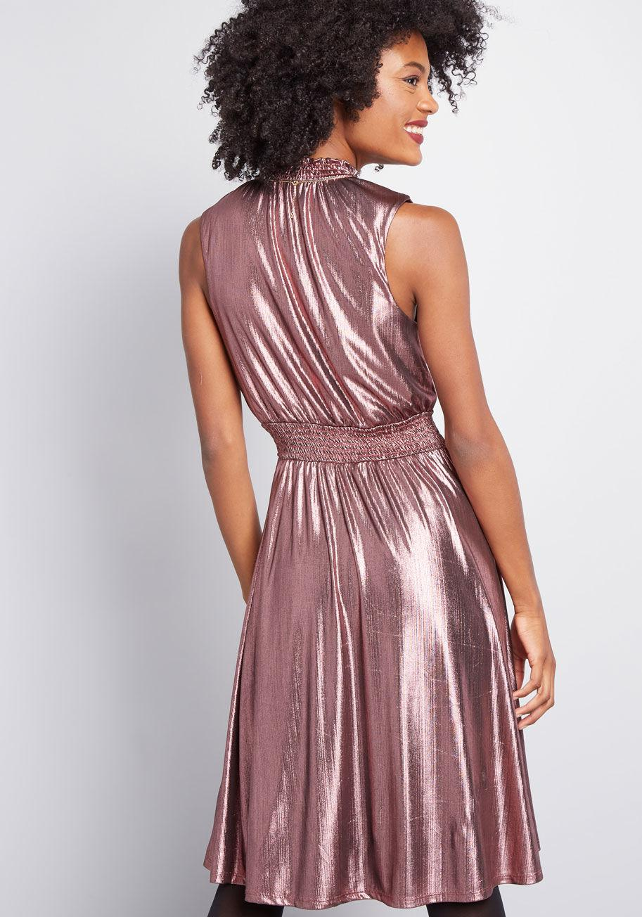 ba5d47e291f13 ModCloth - Pink Savor The Occasion A-line Dress - Lyst. View fullscreen
