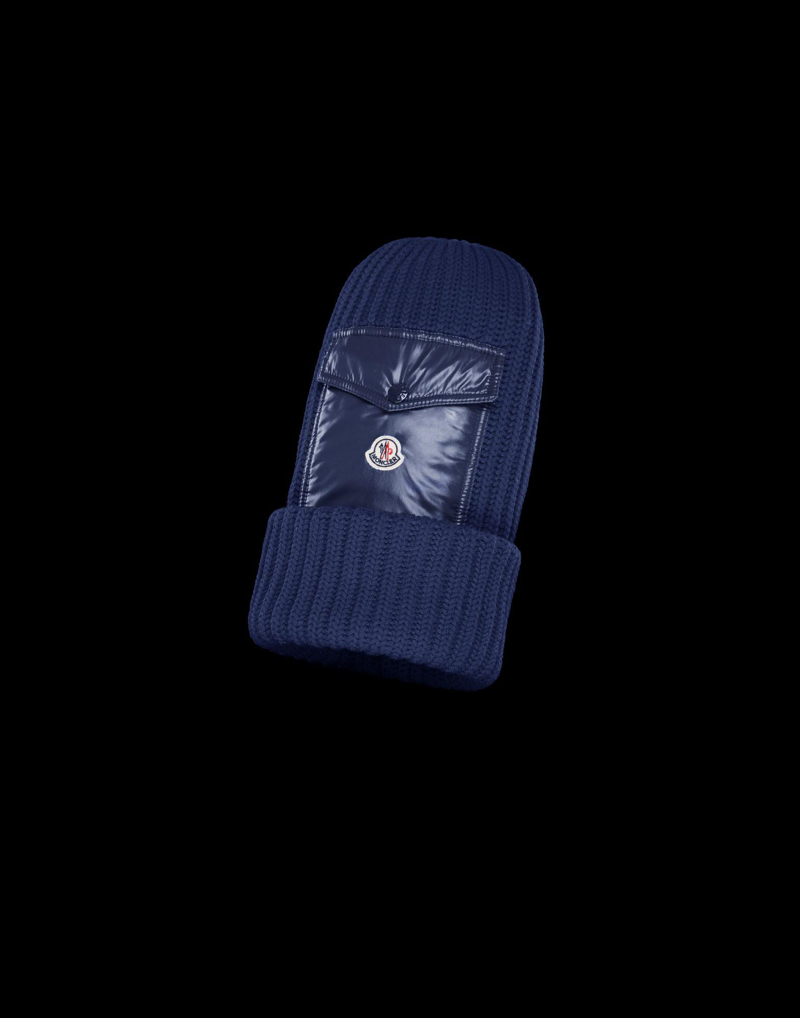 31a8664e35b Lyst - Moncler Hat in Blue for Men