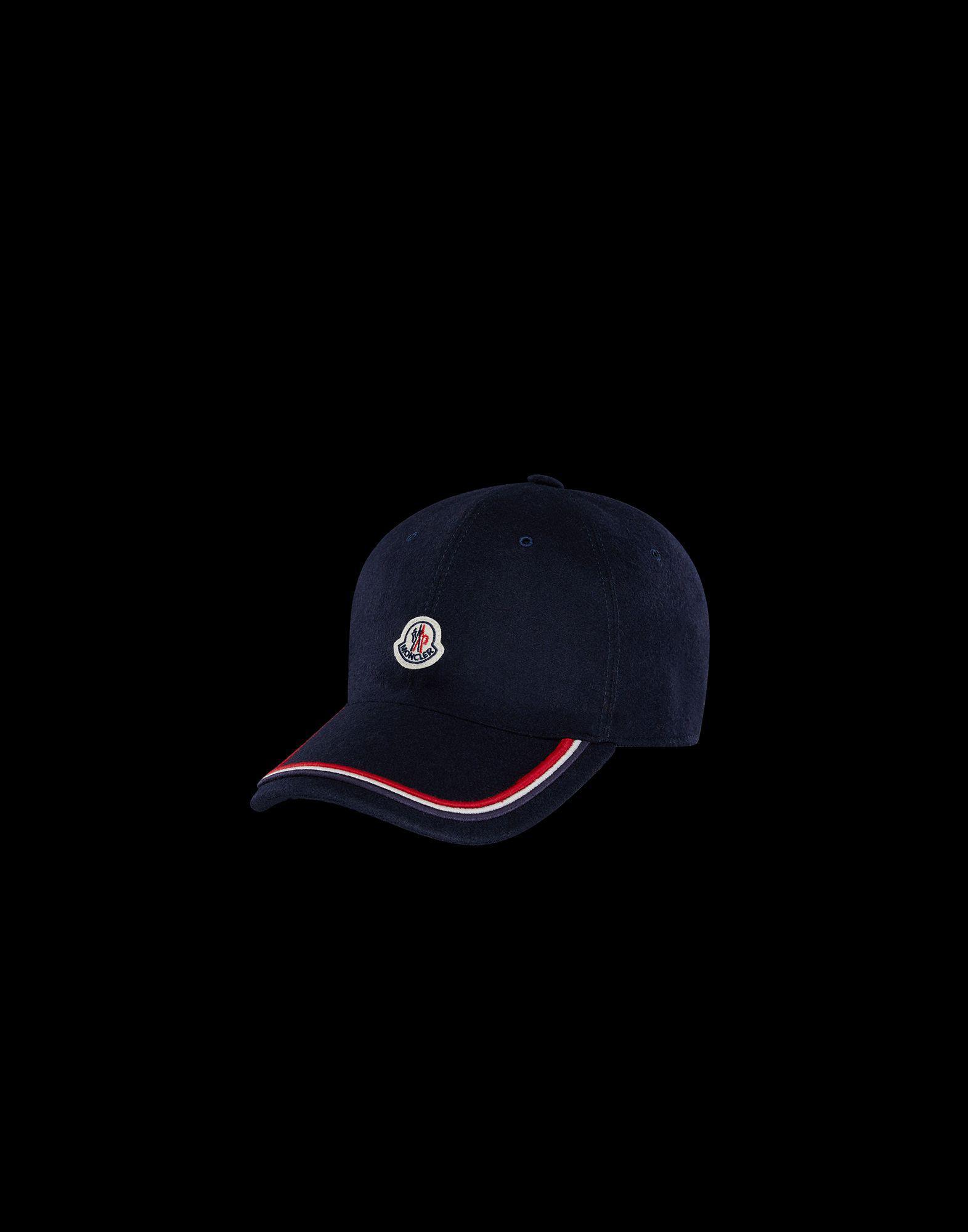 024e1254e26 Lyst - Moncler Hat in Blue for Men