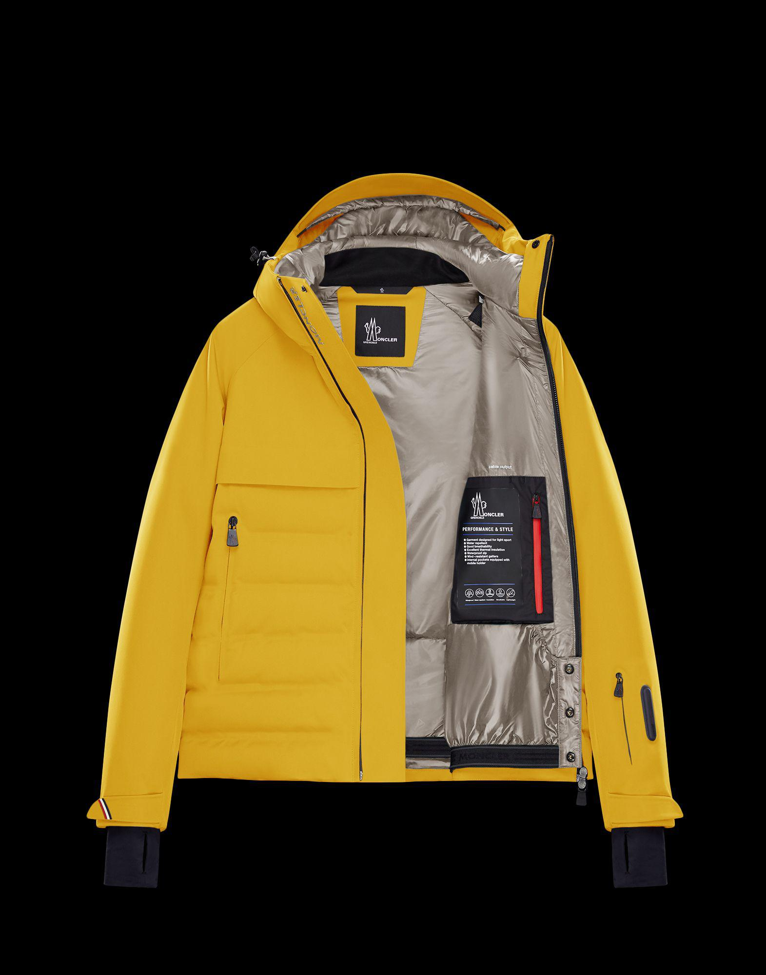 9ec9af688bfb1 Lyst - Moncler Grenoble Achensee in Yellow for Men