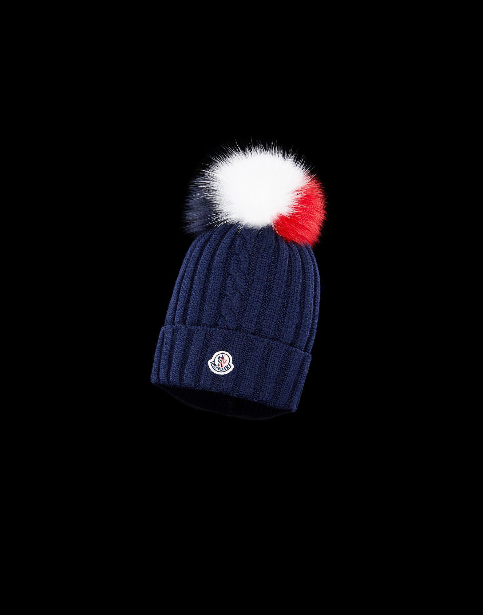 8cf739da3ed Lyst - Moncler Hat in Blue