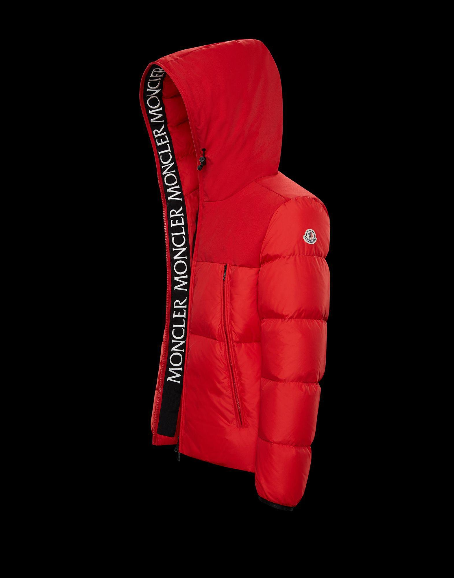 f5a94edc43b8 Lyst - Moncler Montclar in Red for Men