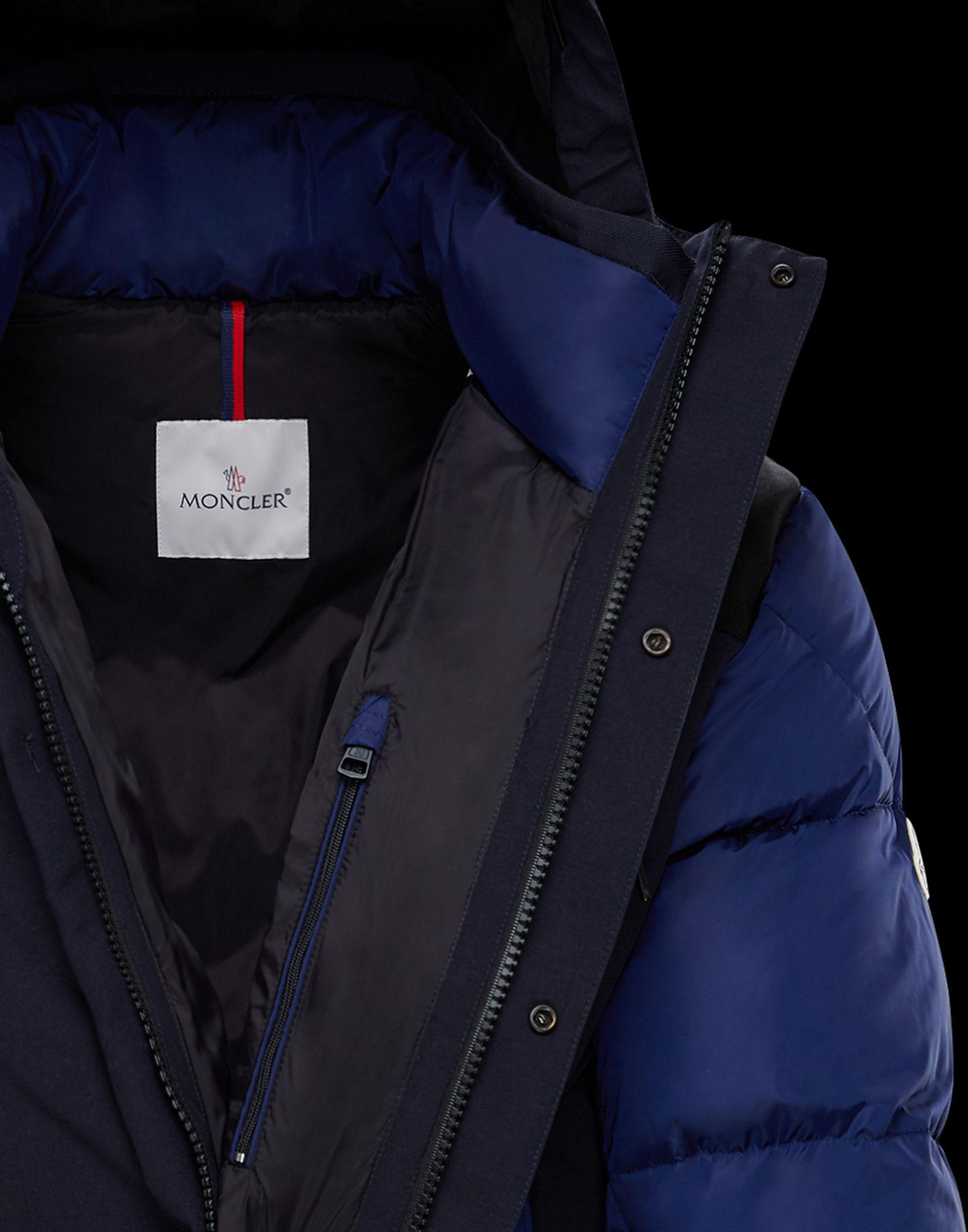 0efc2f29d Lyst - Moncler Roger in Blue for Men