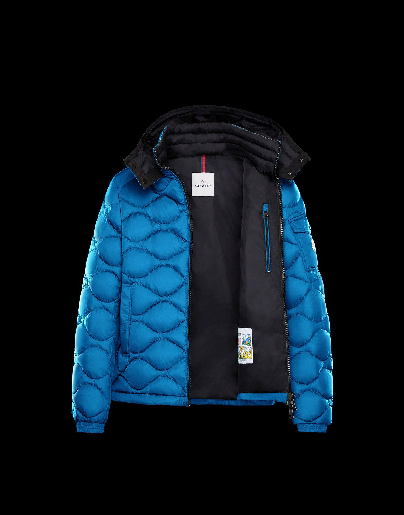 7fce4b4a1 Moncler Morandieres in Blue for Men - Lyst
