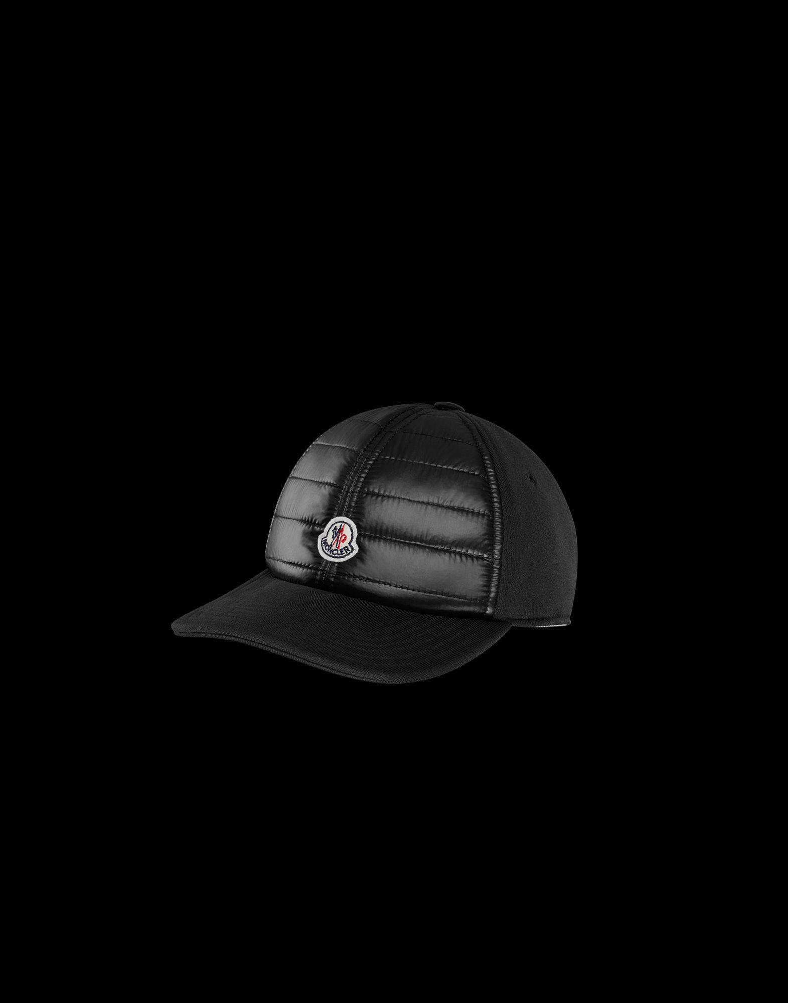 60bef9da4a7 Moncler Hat in Black for Men - Lyst