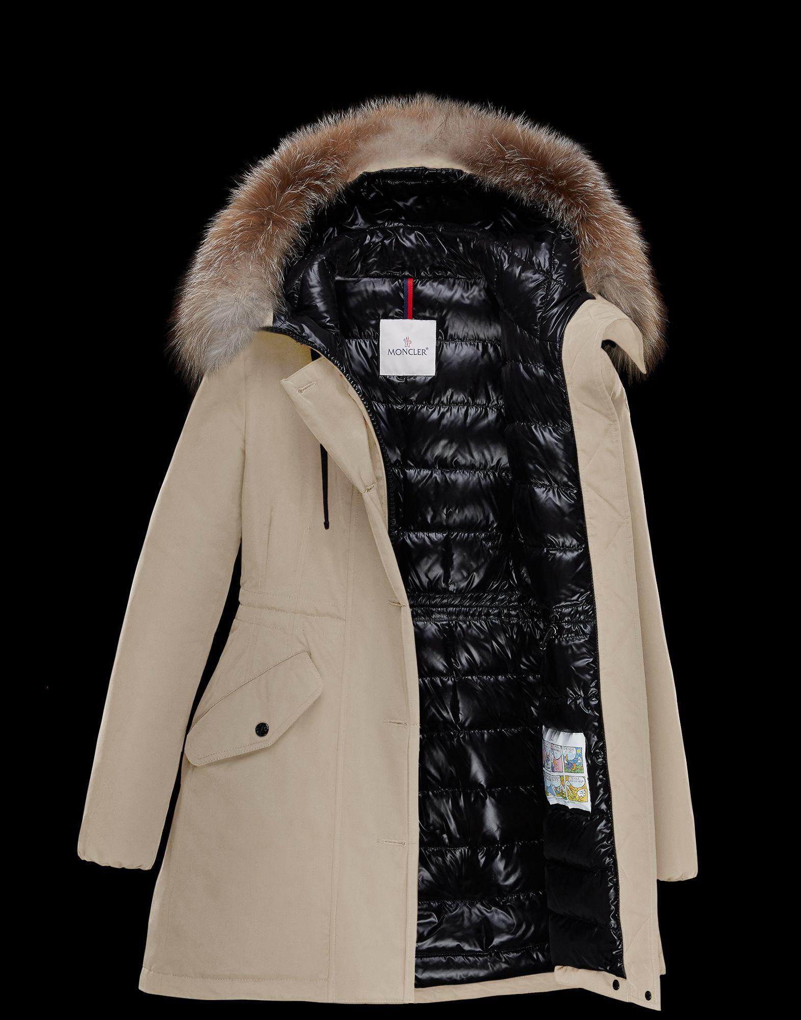 06b92c85f Lyst - Moncler Monticole in Natural