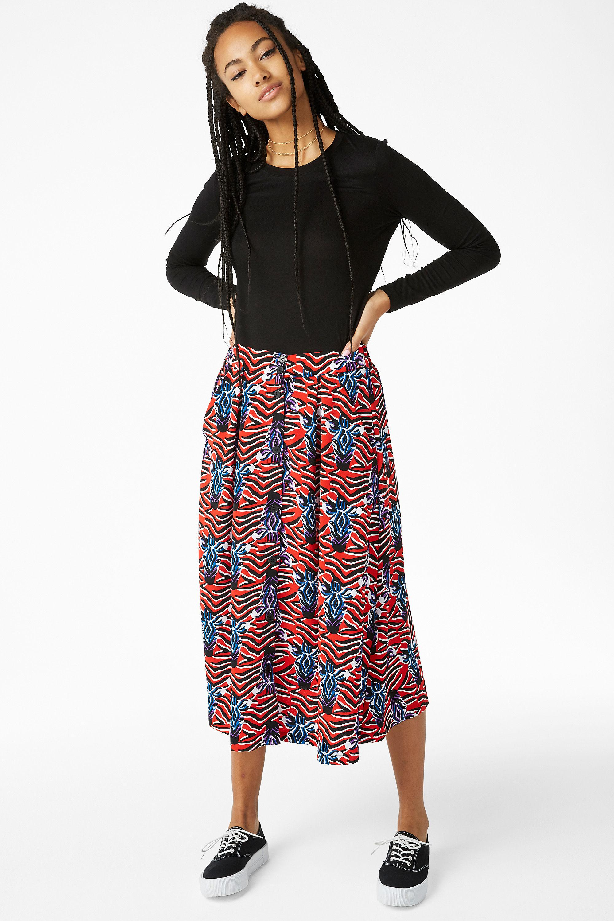 7be585e0ba Gallery. Previously sold at: Monki · Women's Midi Skirts