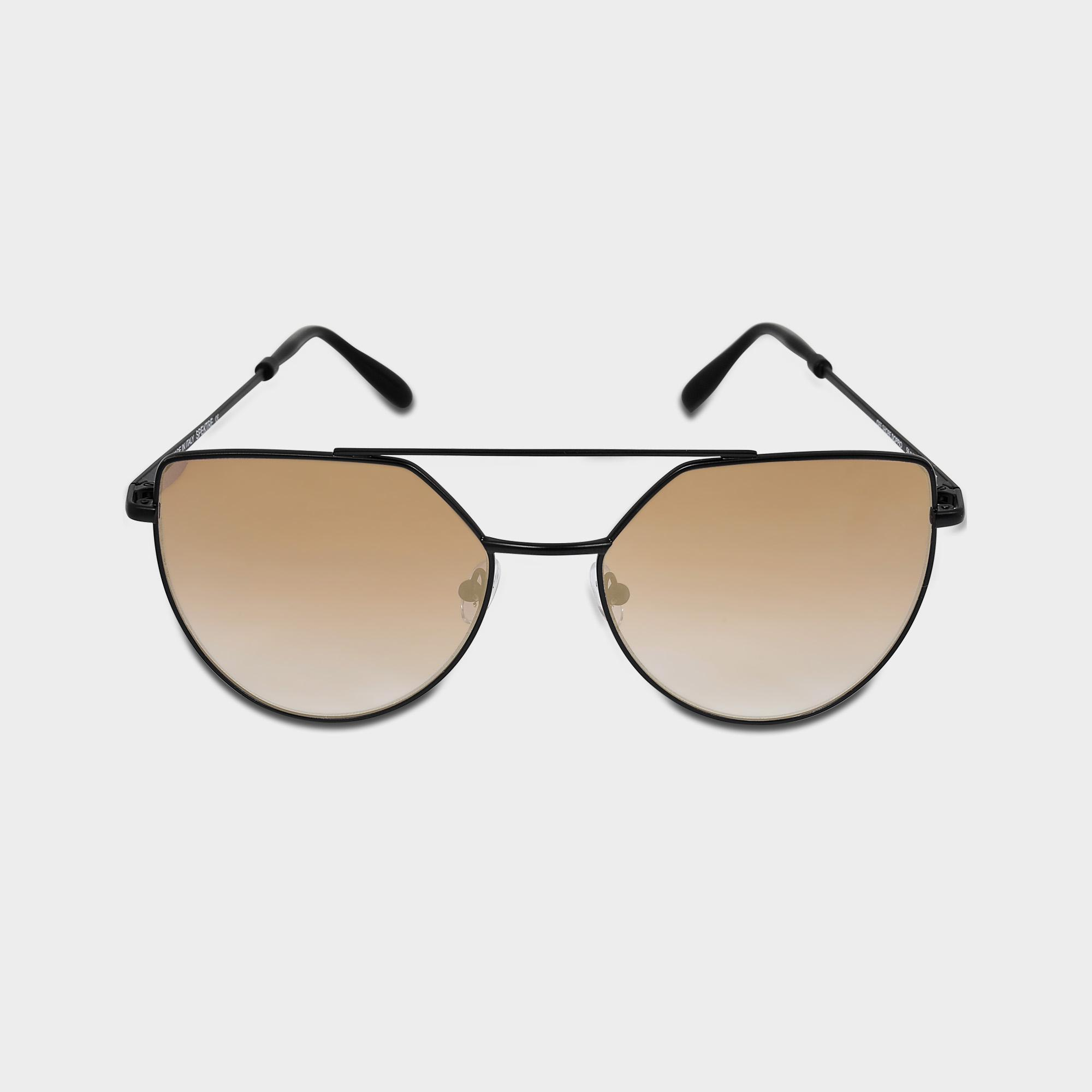 a5af4a66fae Lyst - Spektre Offshore Sunglasses In Matte Black And Gradient Gold ...