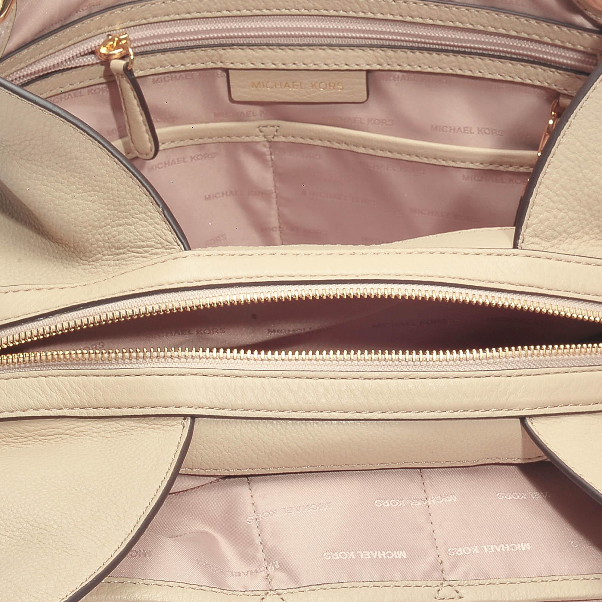 154c3962dc88 Lyst - MICHAEL Michael Kors Raven Large Shoulder Tote Bag In Oat ...