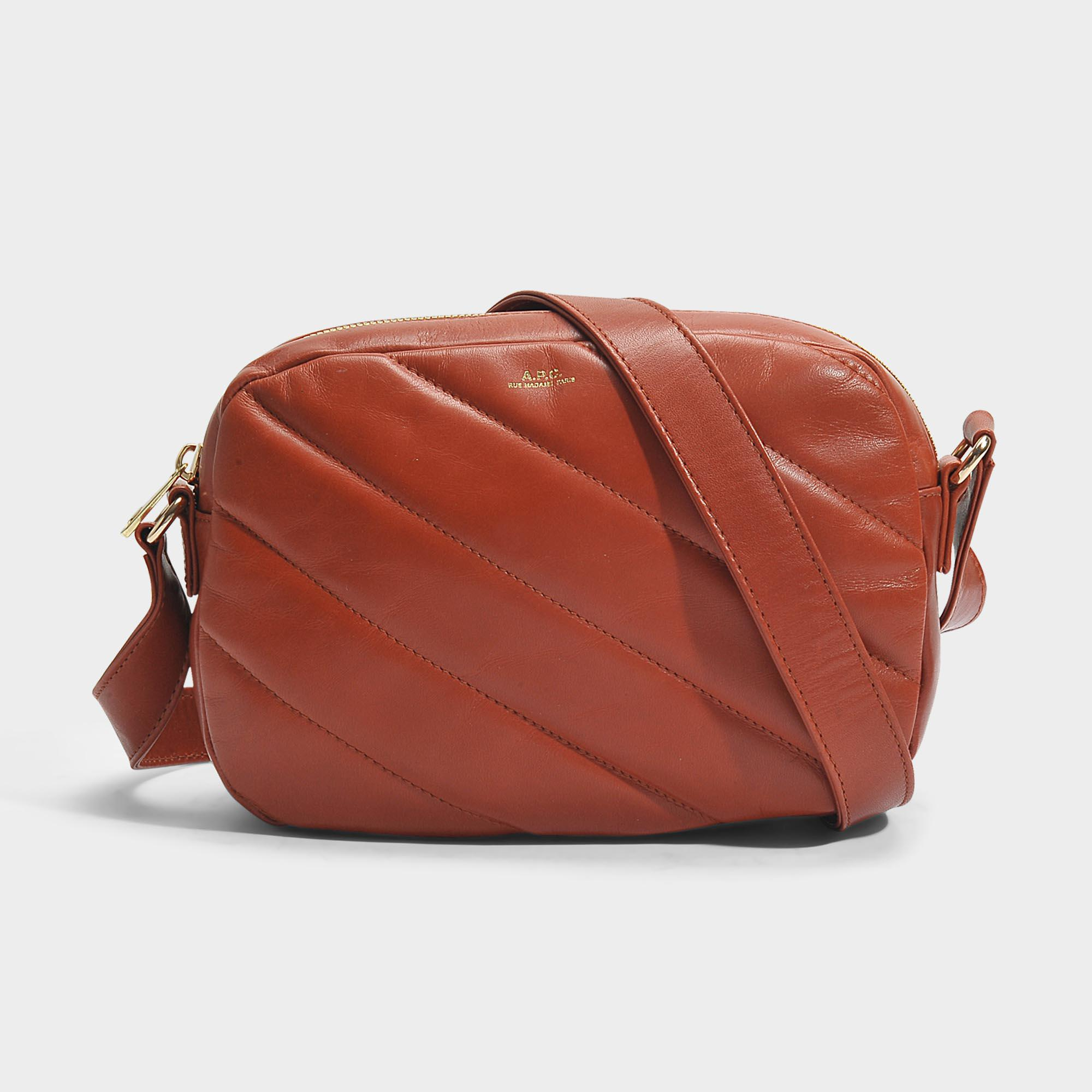 Meryl Bag in Dark Red Smooth Calfskin A.P.C. Cheap Sale Get To Buy Where To Buy Low Price Discount Authentic Cheap Sale For Cheap Buy Cheap Discount GWungkW