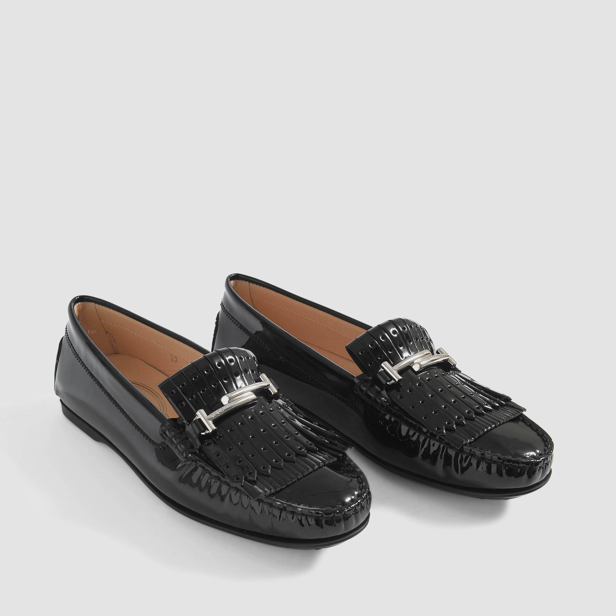 Tod's Gommino Fringe Loafers City With 4nA70Fx