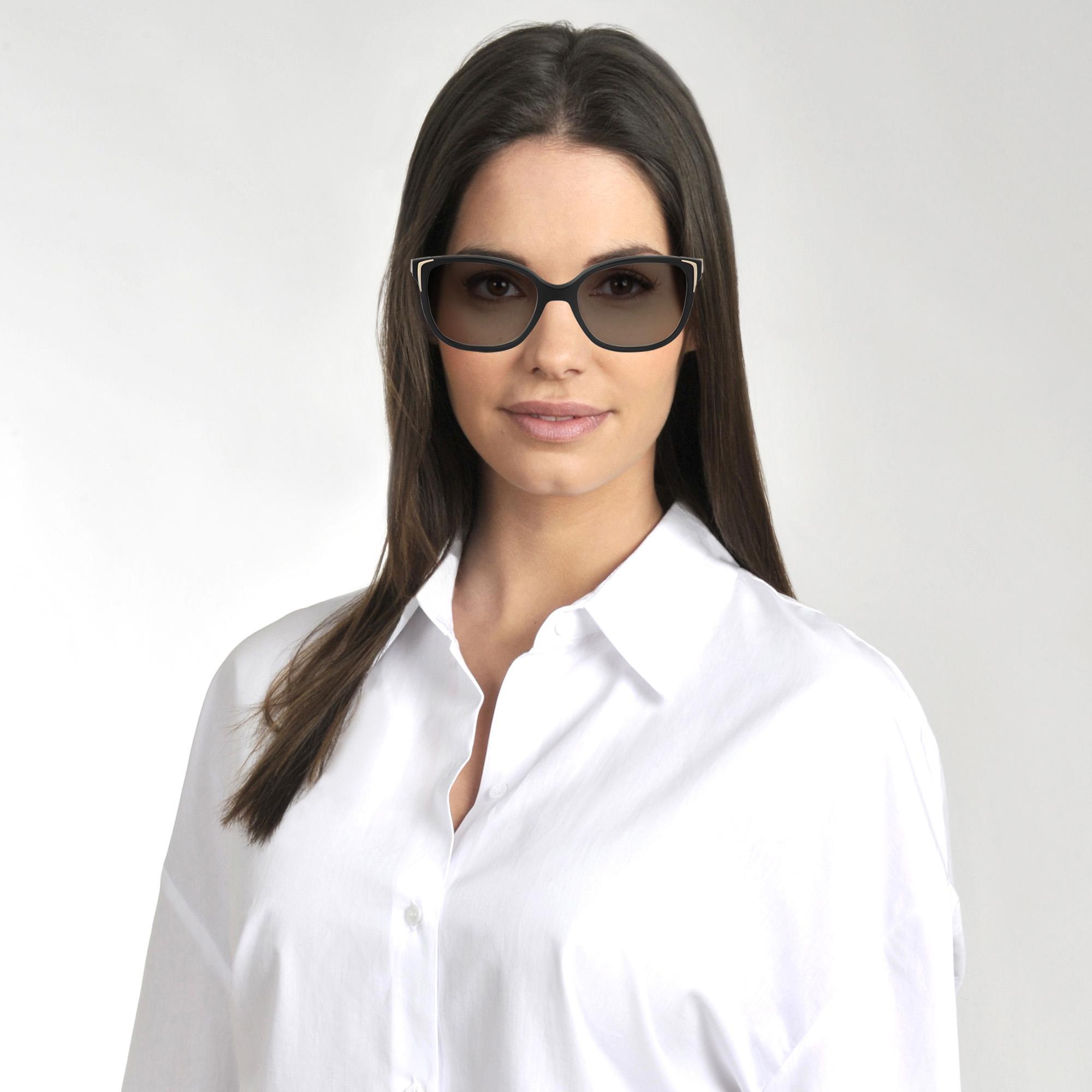 16d4afec05 Lyst - Prada 0pr 01os Sunglasses In Black Acetate