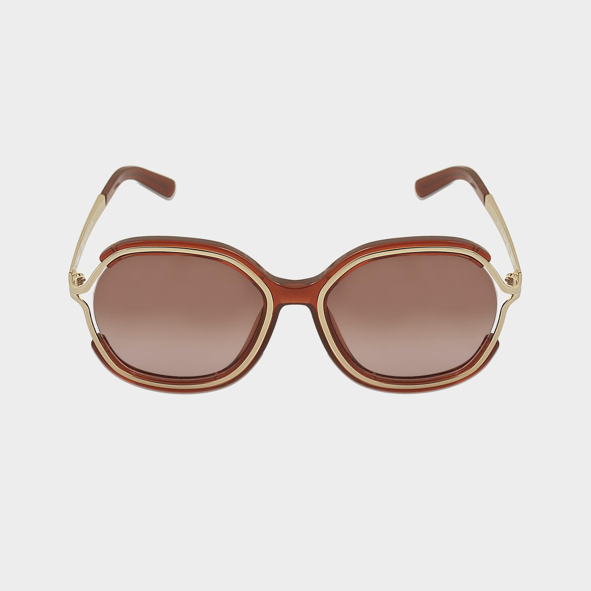 df341fec1b2 Chloé Ce689s Jayme Sunglasses in Brown - Lyst