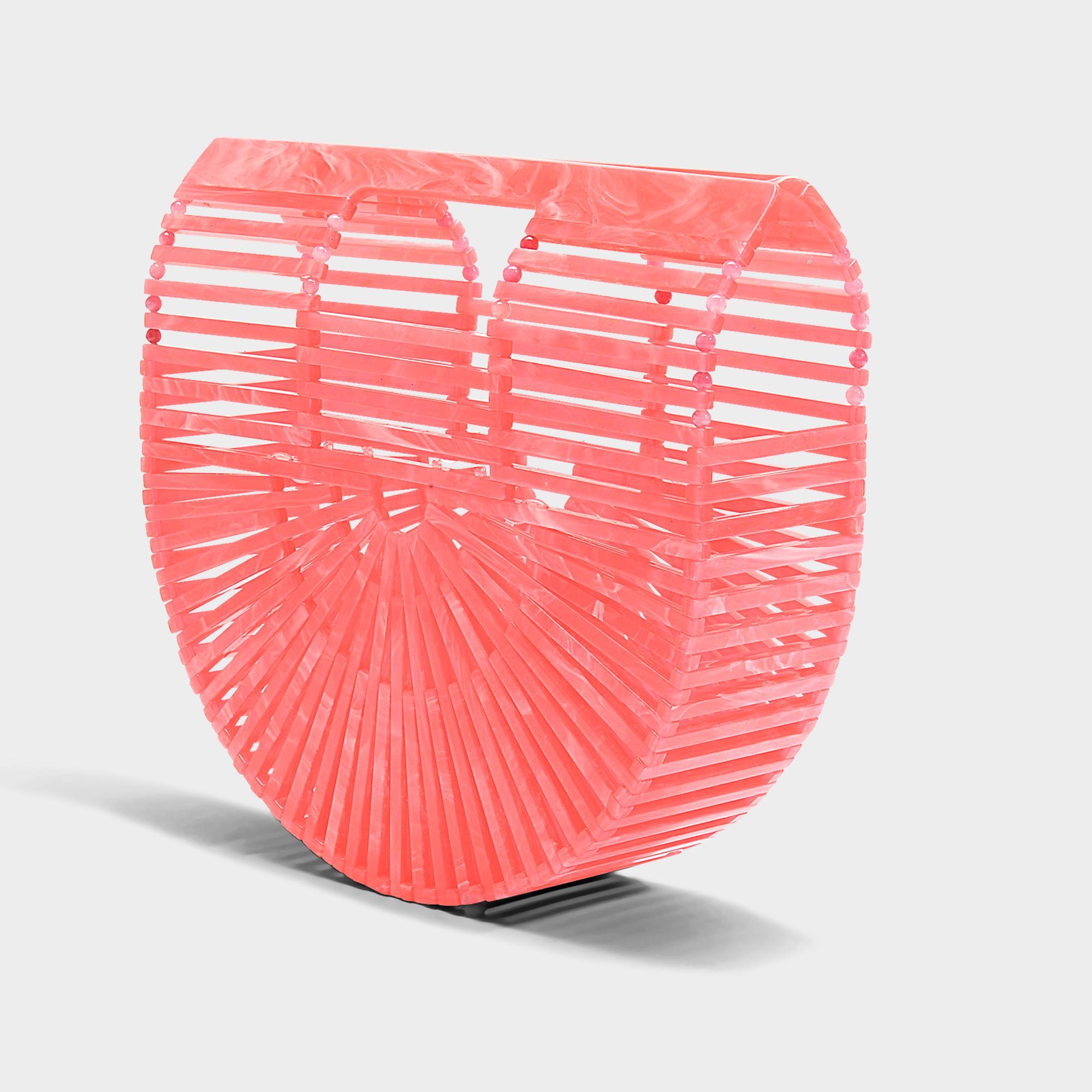 Culte Gaia Arche Mini-acrylique Sac En Pastèque Acrylique Livraison Gratuite Meilleurs Prix ODfENM