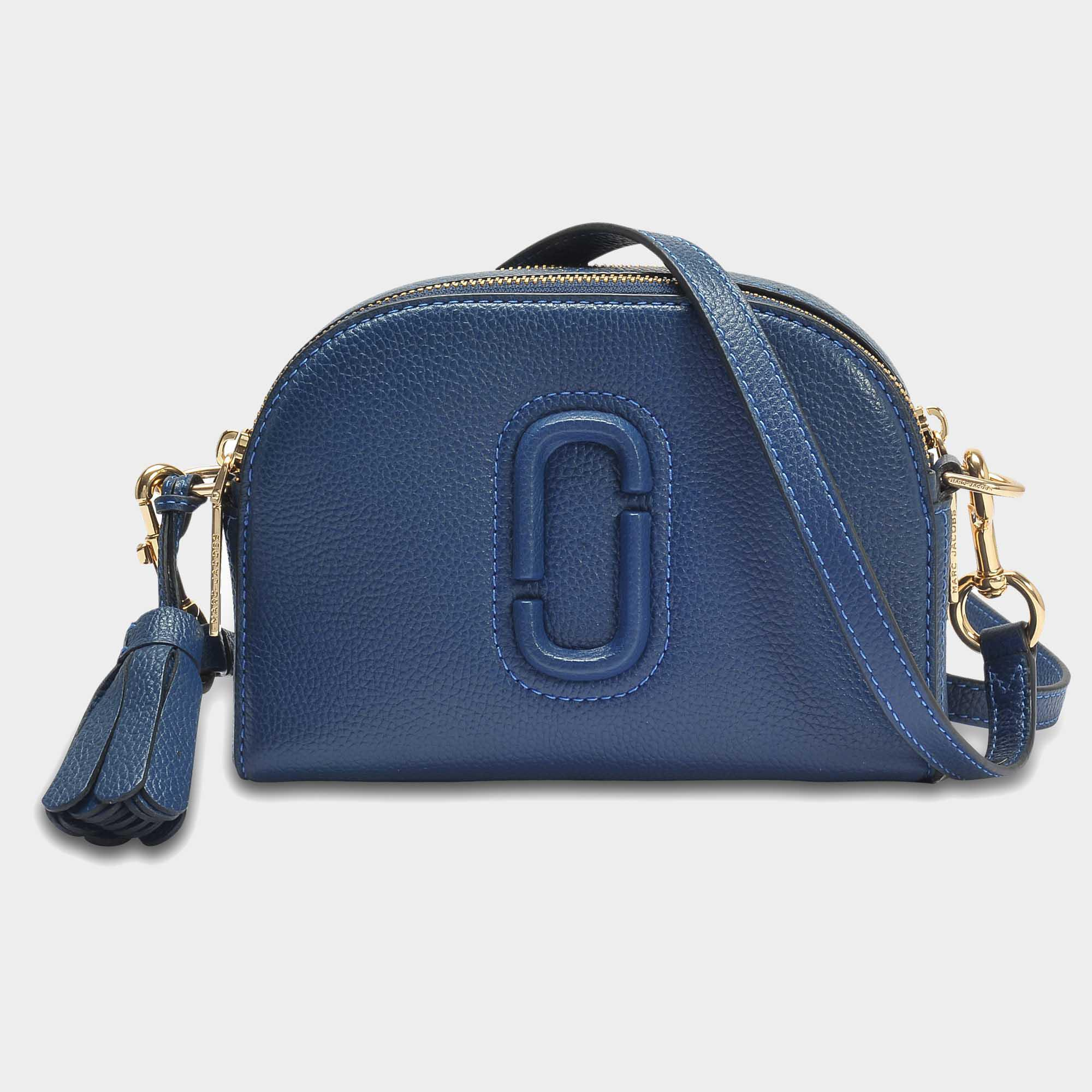 d7bc4aee3c3 Lyst - Marc Jacobs Shutter Bag In Blue Calfskin in Blue - Save 29%