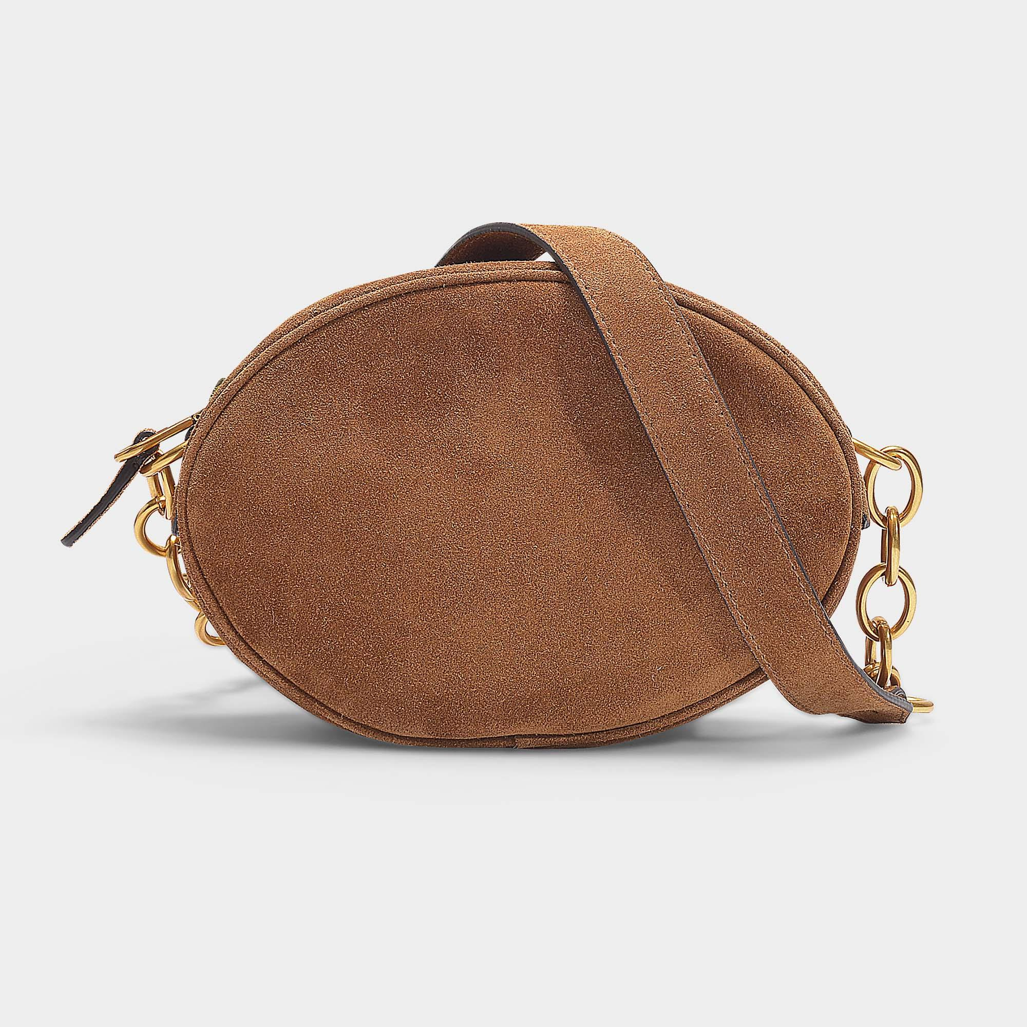 Polo Ralph Lauren Gilly Bag In Brown Suede in Brown - Lyst 7f8eee0336