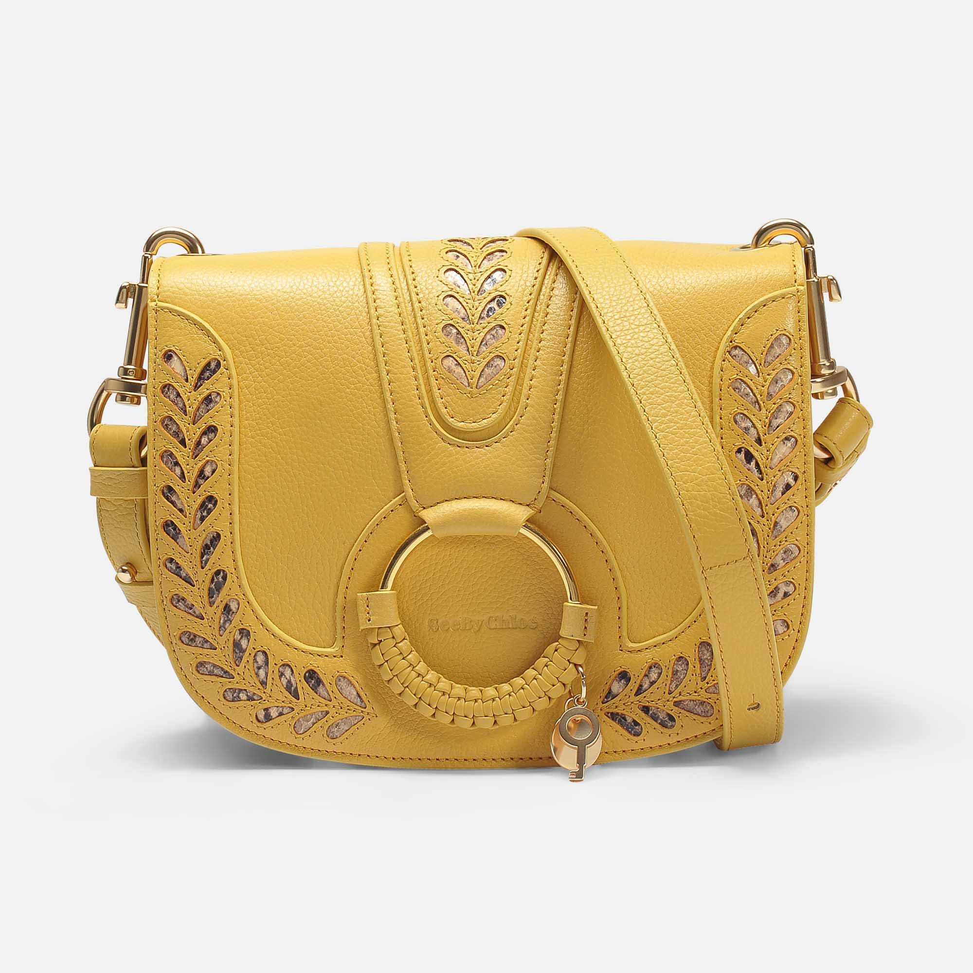 f972f6440 See By Chloé Hana Small Crossbody Bag in Yellow - Lyst