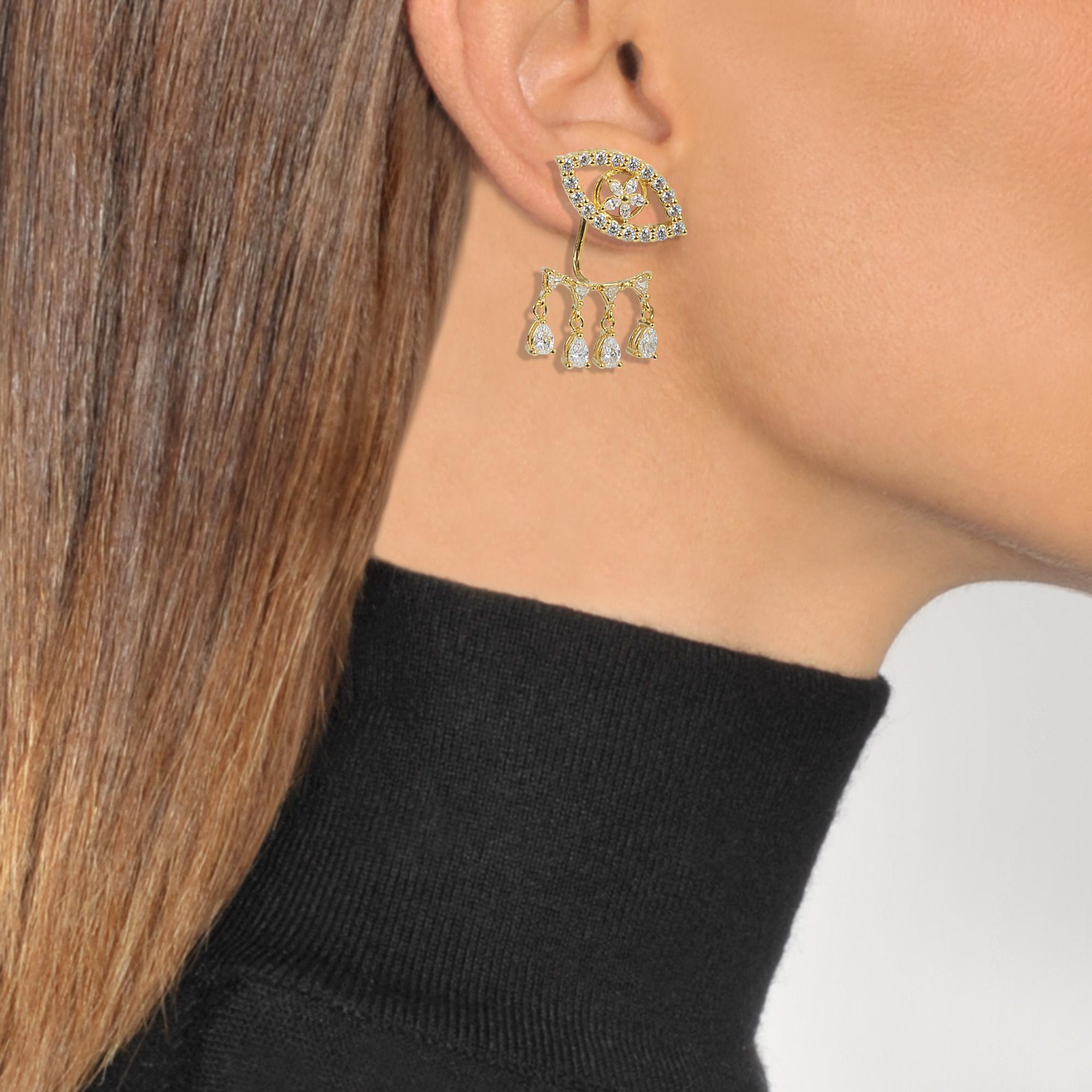 Shourouk Z Farah earrings