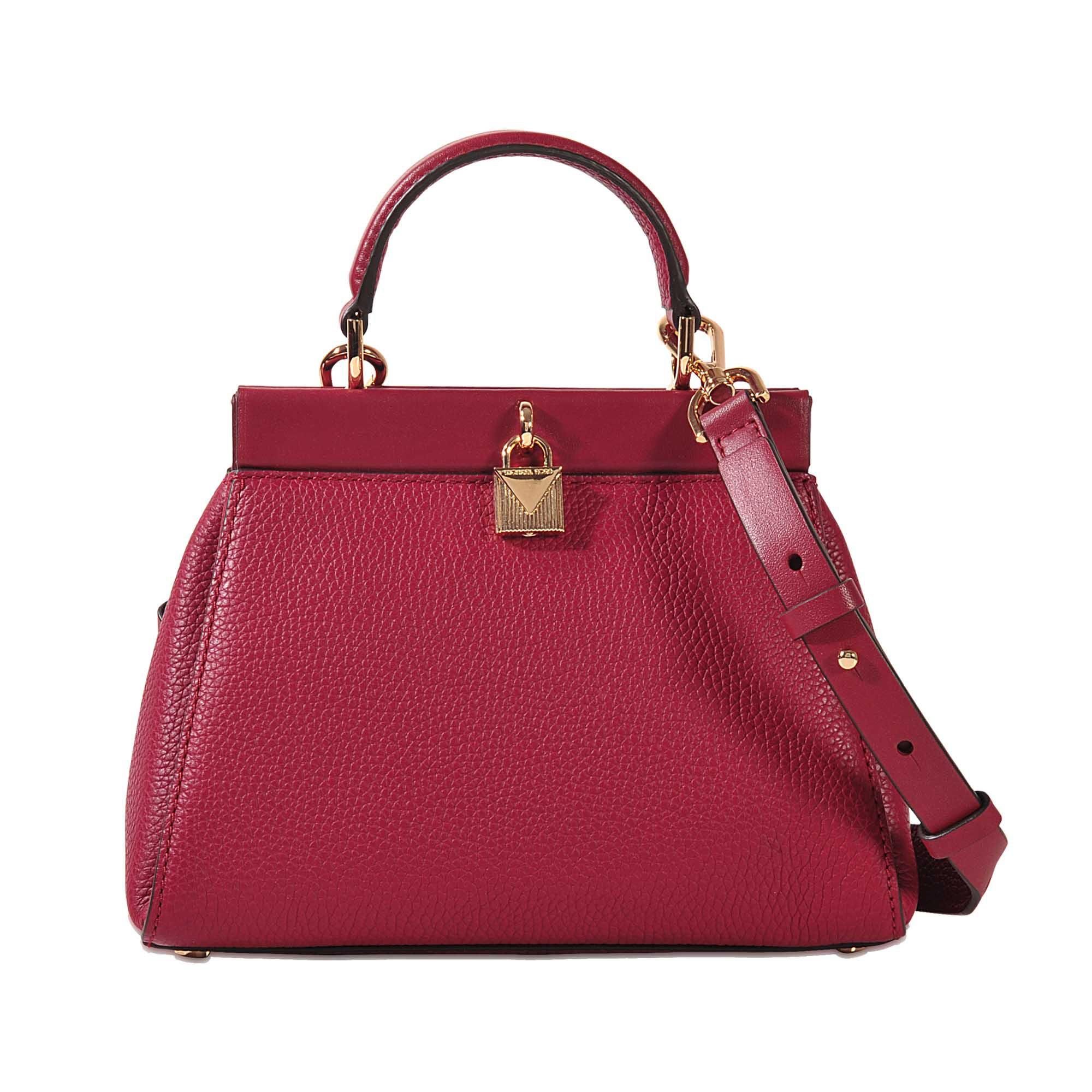 cc92515f8972e0 MICHAEL Michael Kors Gramercy Frame Sm Th Satchel in Pink - Lyst