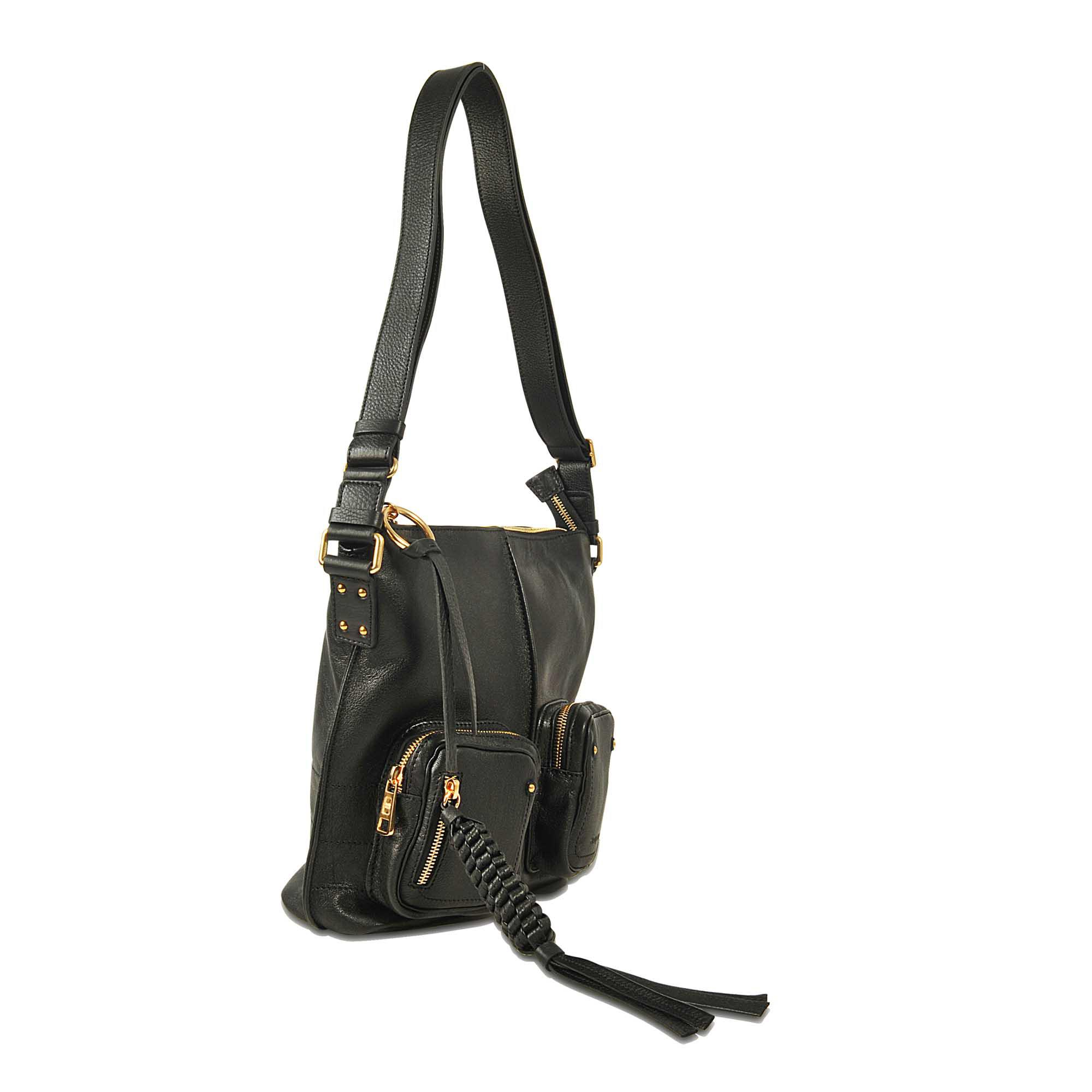 17eeb11689b4 Lyst - See By Chloé Patti Shoulder Bag 9s7879 in Black
