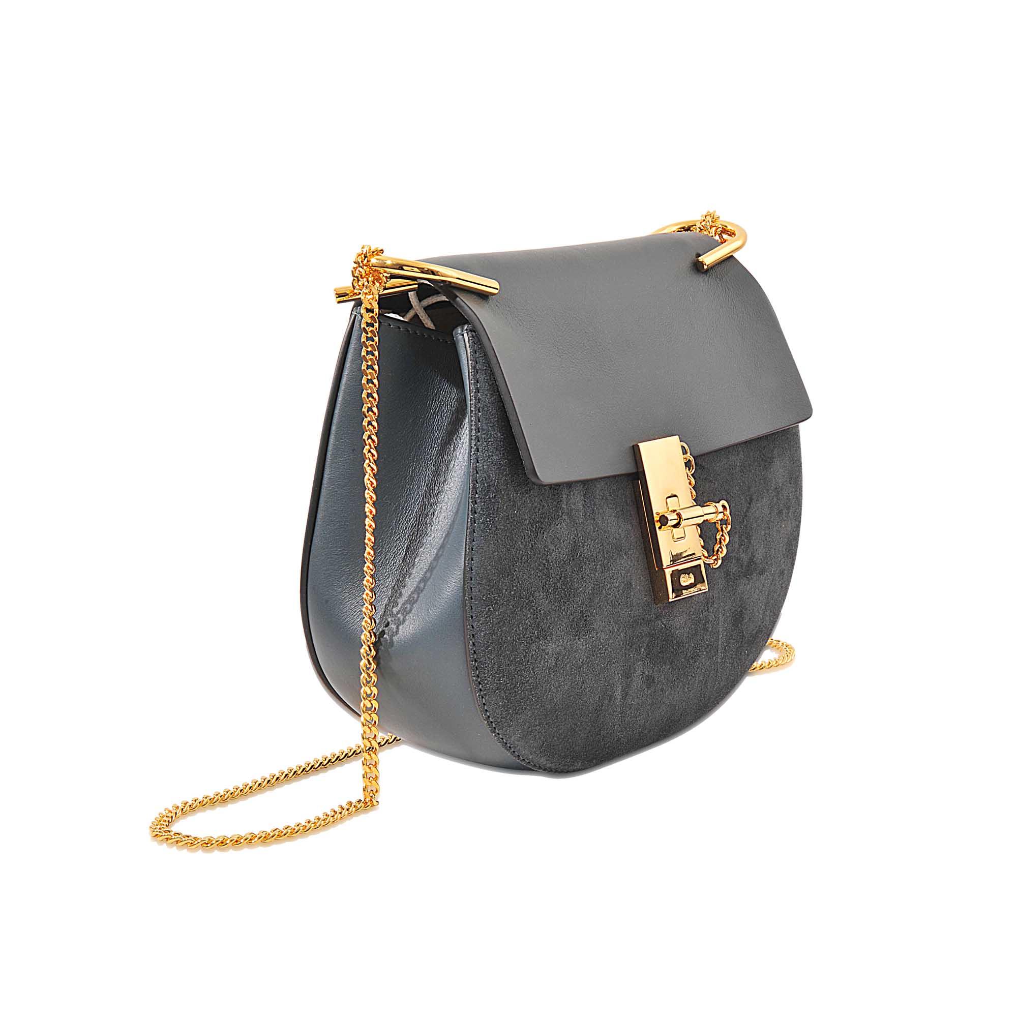 chlo drew small shoulder bag in multicolor lyst. Black Bedroom Furniture Sets. Home Design Ideas