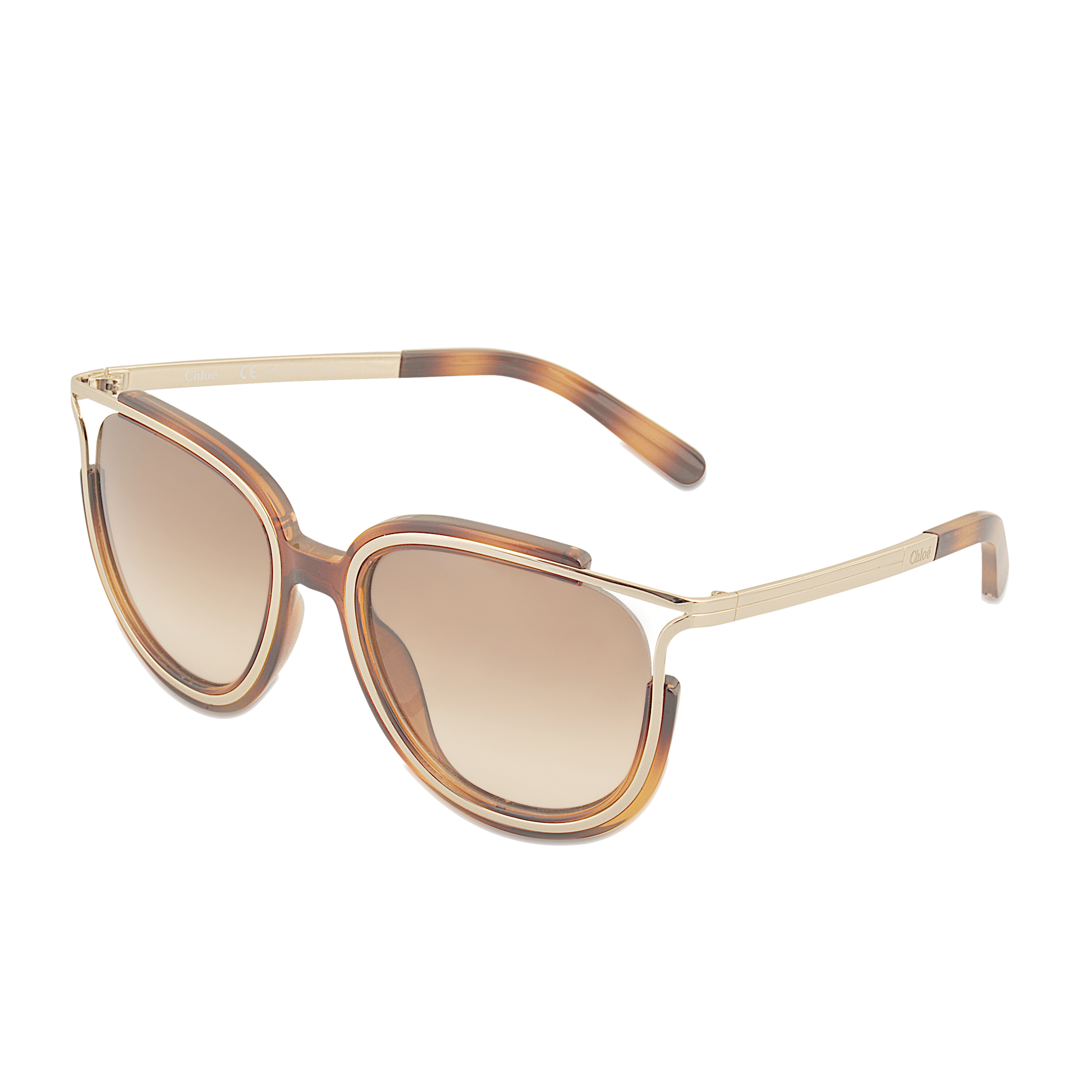5e9eae0ab02 Lyst - Chloé Ce688s Jayme Sunglasses in Brown