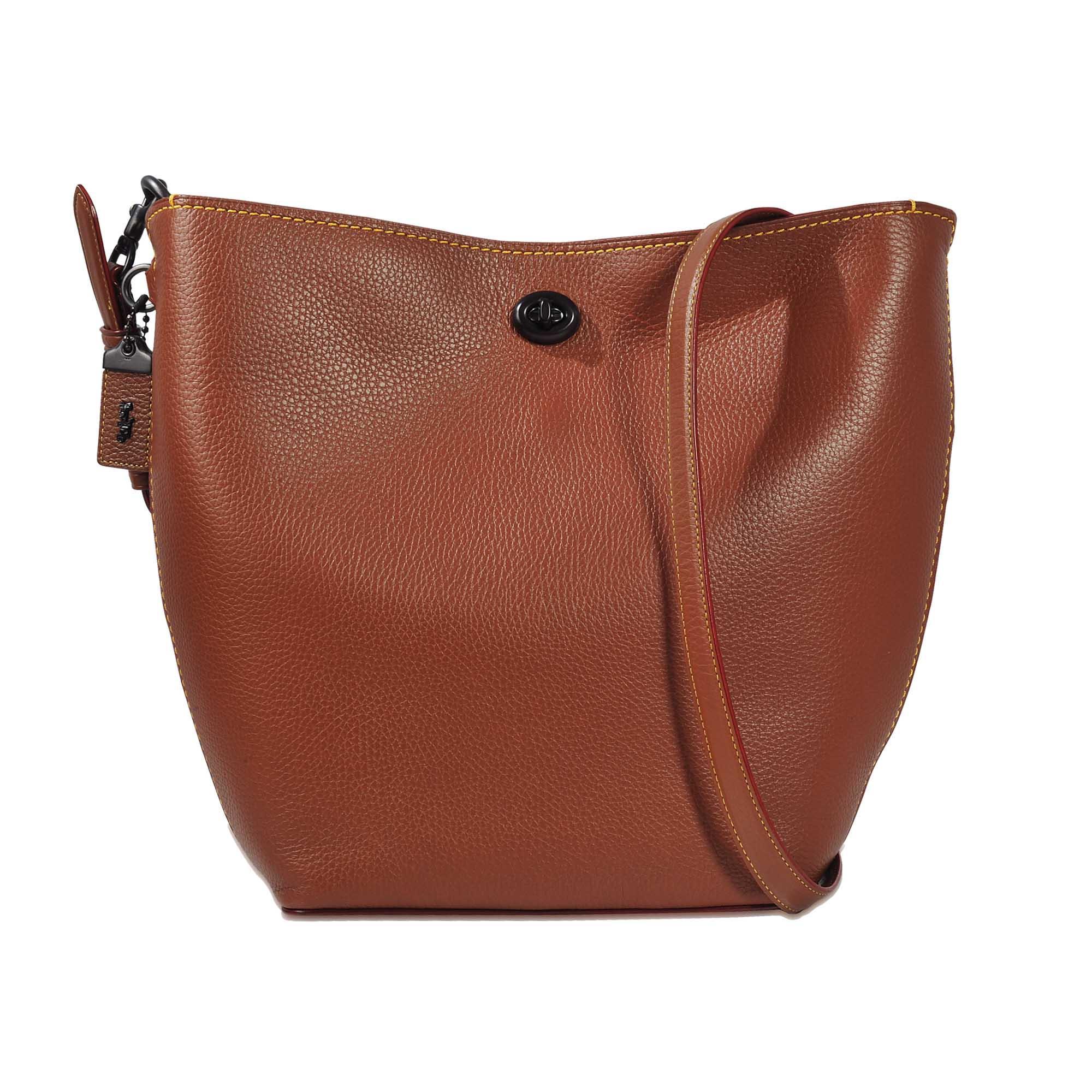 Coach Duffle Bag In Glovetan Leather in Brown
