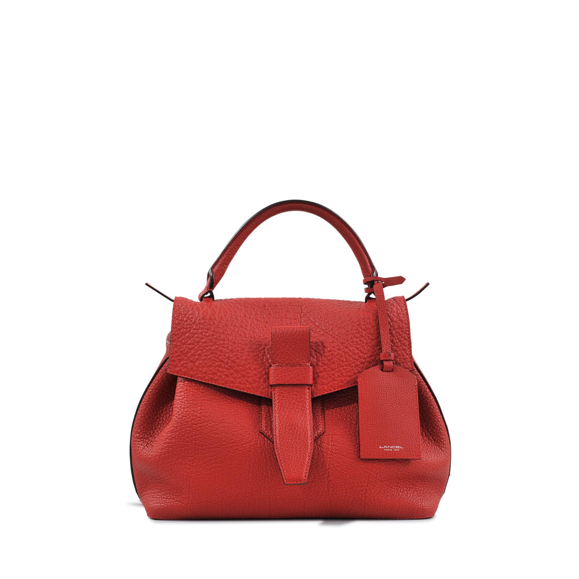 lancel charlie handbag in red save 10 lyst. Black Bedroom Furniture Sets. Home Design Ideas