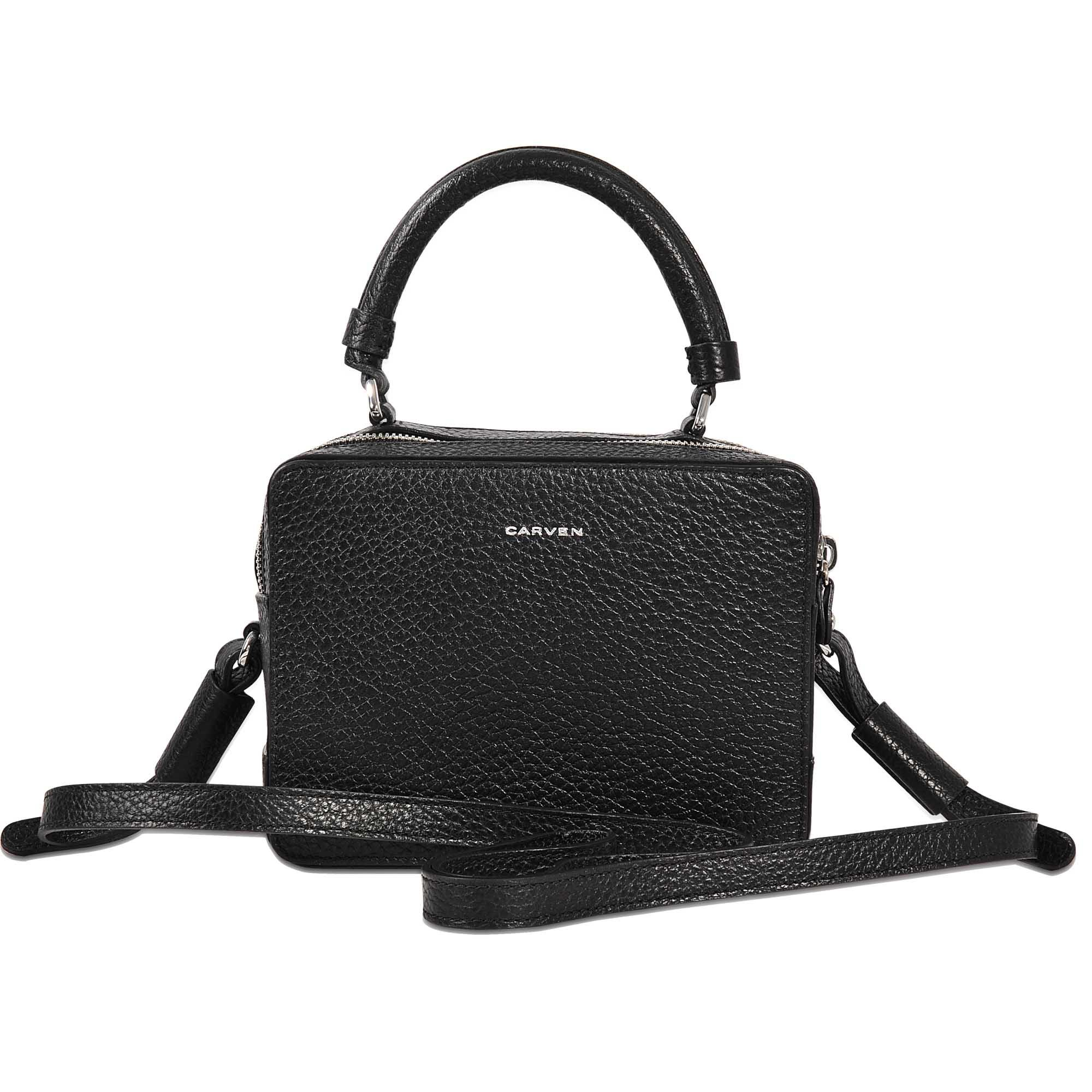 4f8fb7d224 Lyst - Carven Mahler Bag Double Carry in Black