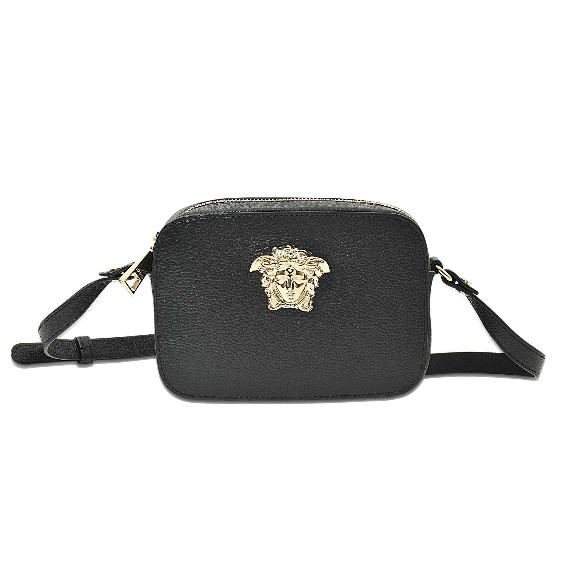 ... release date bb4b5 b9f11 Lyst - Versace palazzo Medusa Duffle Bag in  Black ... 3fc7a4a6e02e3