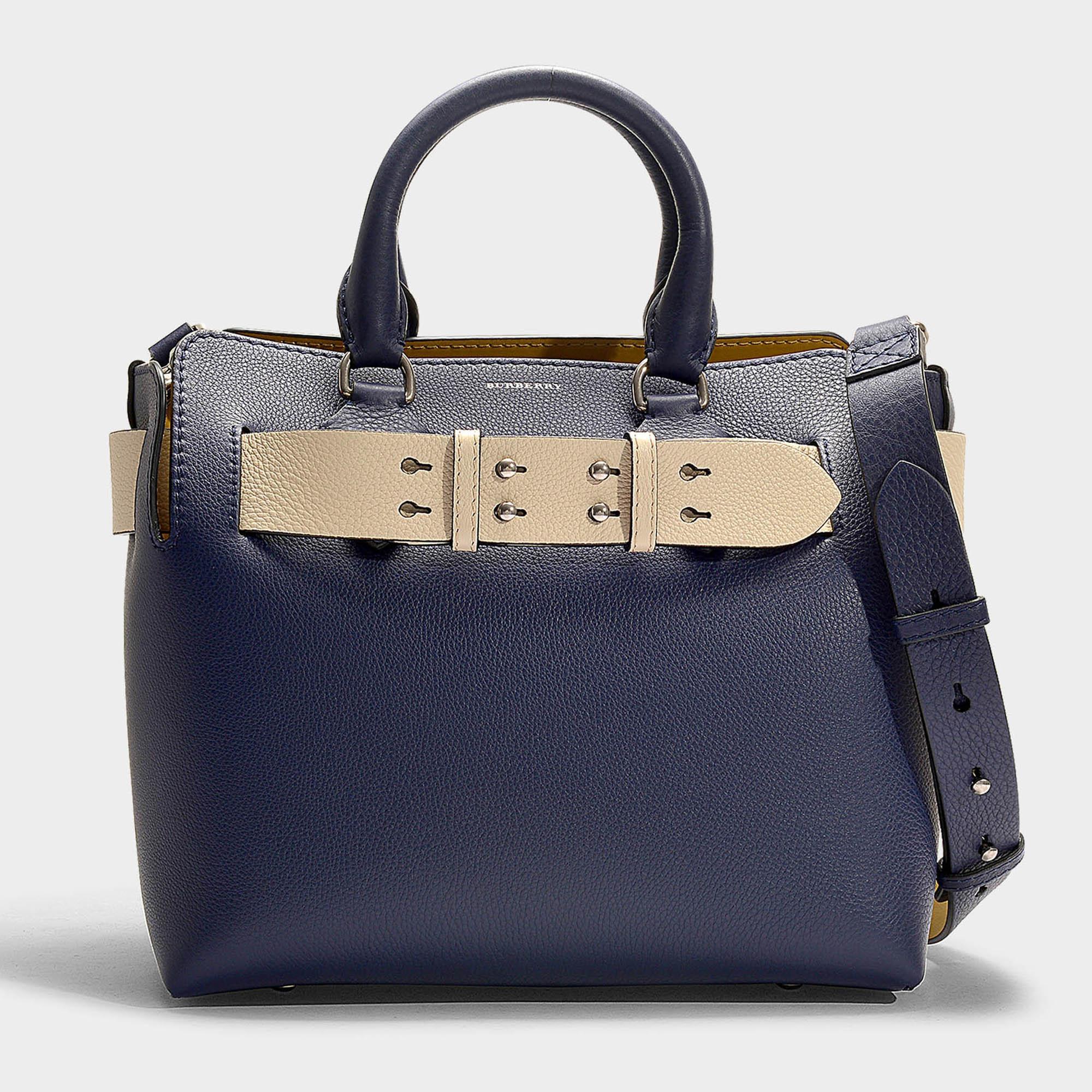 0ecaf3738107 Burberry - The Small Belt Bag In Regency Blue Calfskin - Lyst. View  fullscreen