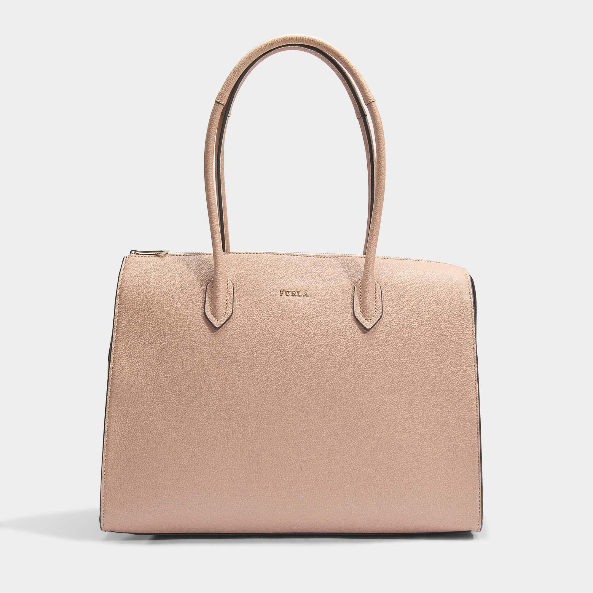 Sale Comfortable Pin L Satchel Bag in Onyx Calfskin Furla Outlet 2018 100% Original Cheap Online Amazon Cheap Price txQu1ro3x