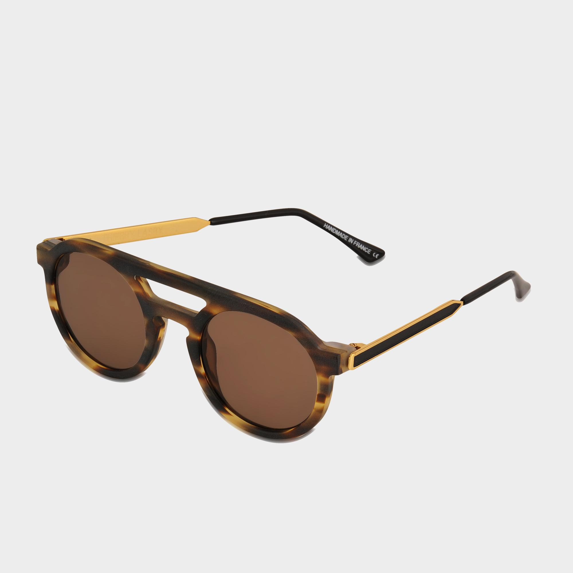 43f21fedc2 Lyst - Thierry Lasry Gravity Sunglasses in Brown