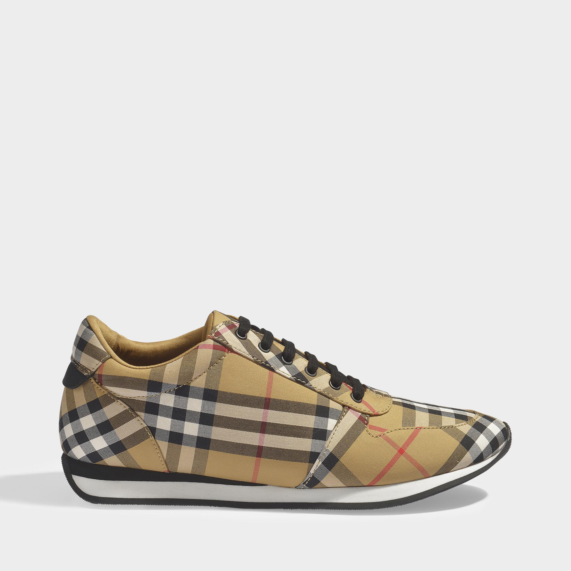 Amelia check sneakers Burberry KR2rbFJS