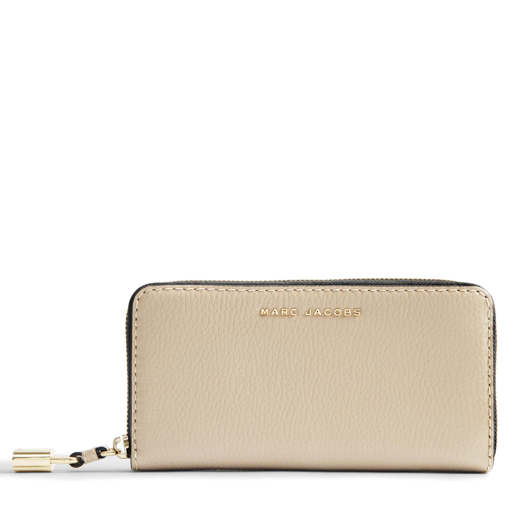 The Grind Standard Continental Wallet in Light Slate Cow Leather Marc Jacobs r0aqGcm0P