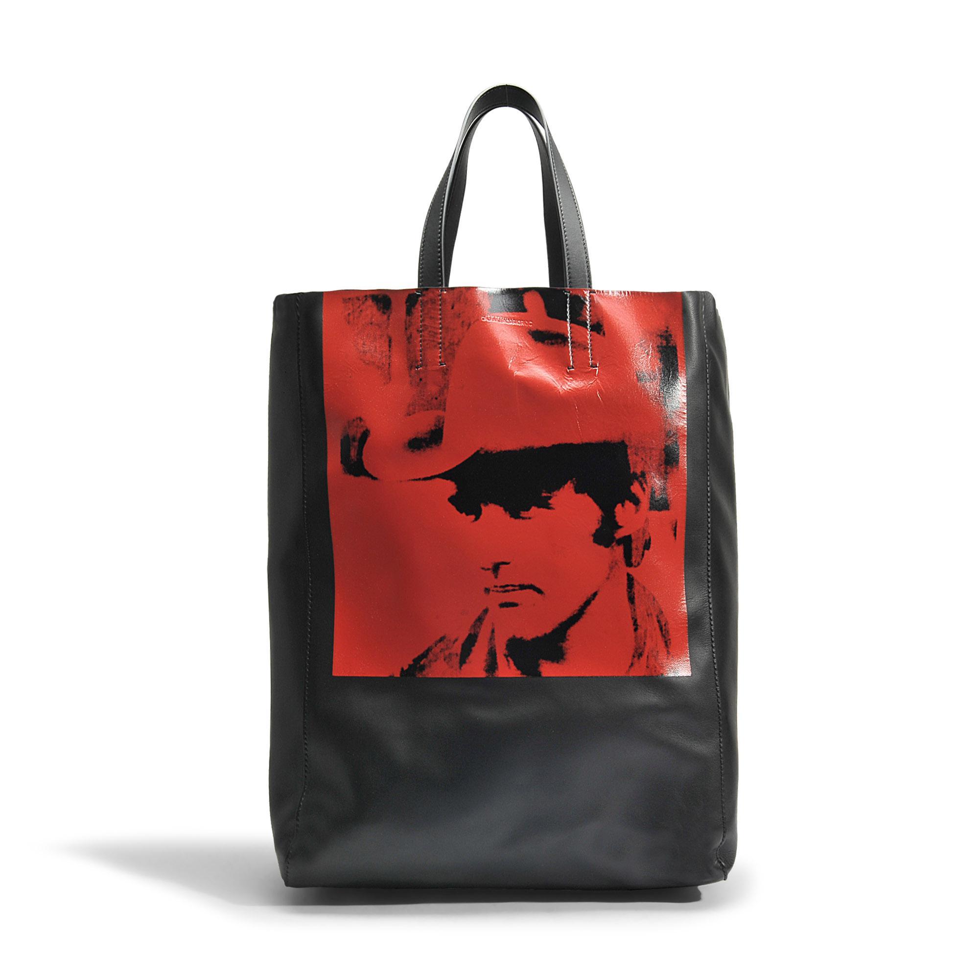 CALVIN KLEIN 205W39NYC Andy Warhol Dennis Hopper Tote Bag ZCPKNBAojk