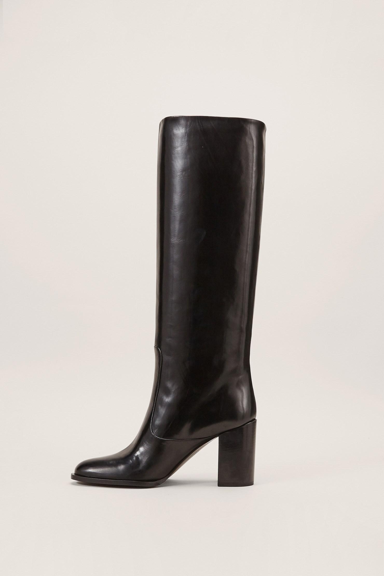 Veronique Branquinho Leather Boots AcOFrAub5X