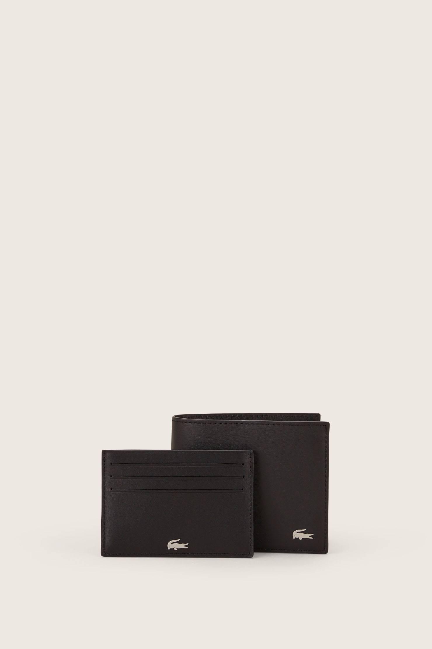 Lyst - Lacoste Business Card Holder in Black for Men