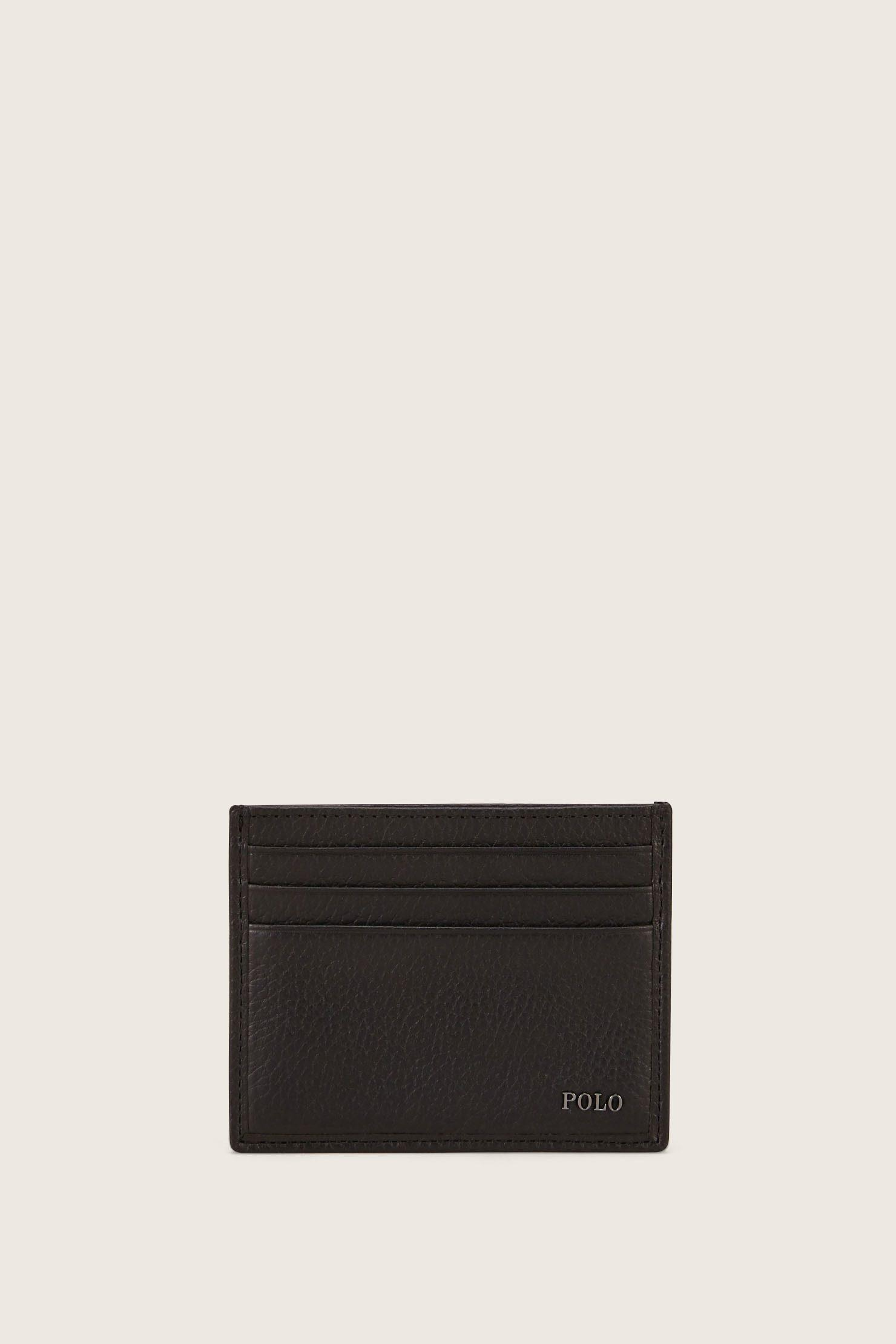 Lyst polo ralph lauren business card holder in black for men polo ralph lauren mens black business card holder reheart Images