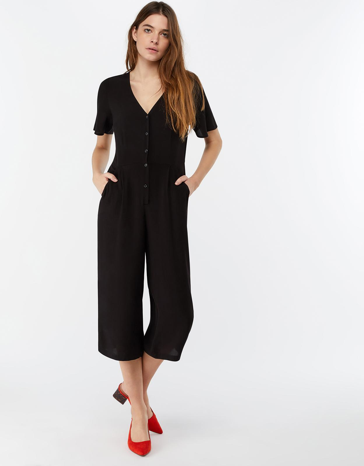30f1ec0fd9e9 Monsoon - Black Josie Jumpsuit - Lyst. View fullscreen