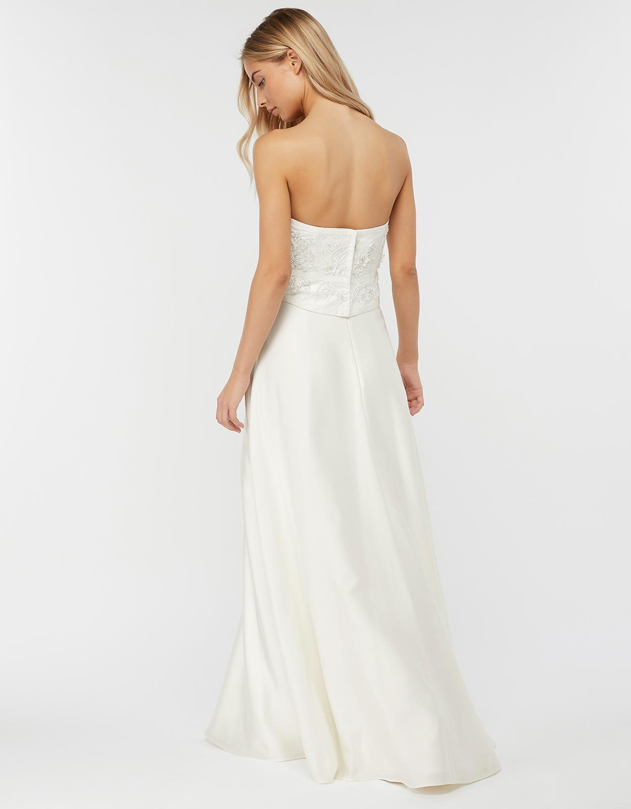 661a6f3c34 Monsoon Eugenie Embellished Bridal Corset in White - Lyst